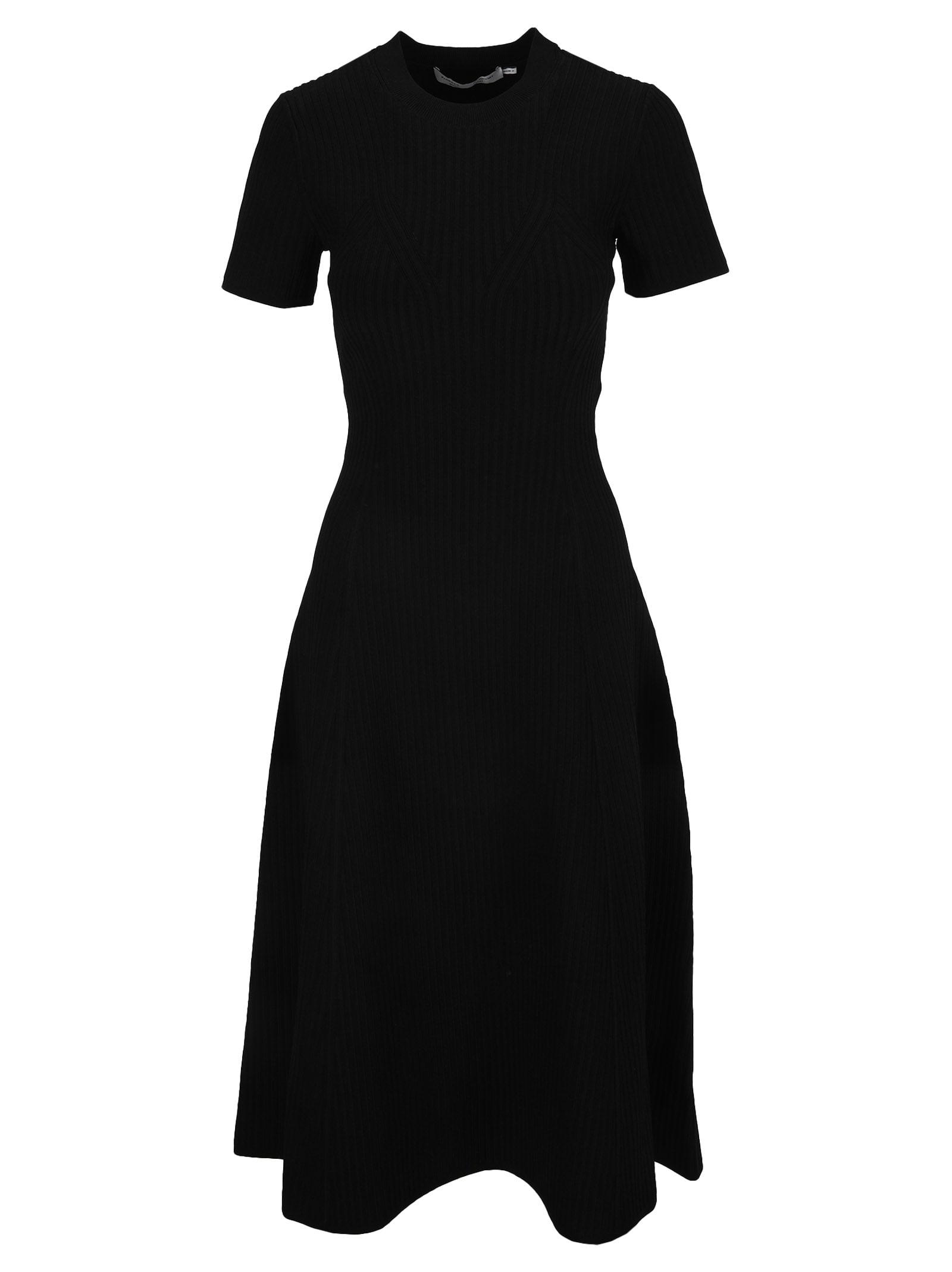 Proenza Schouler Cut-out Back Knit Dress