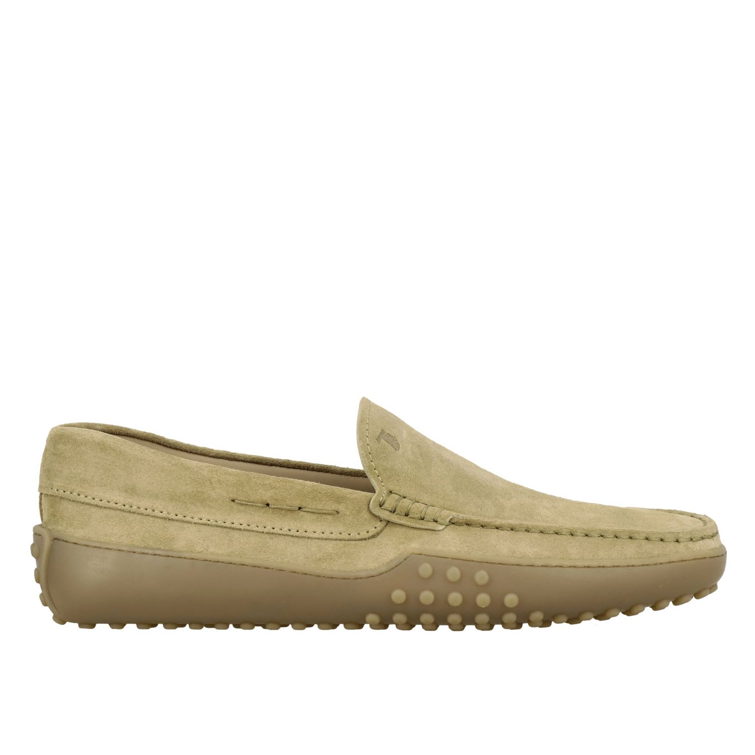 Loafers Tods Gommini Moccasin In SuedeComposition: 100% Calfskin
