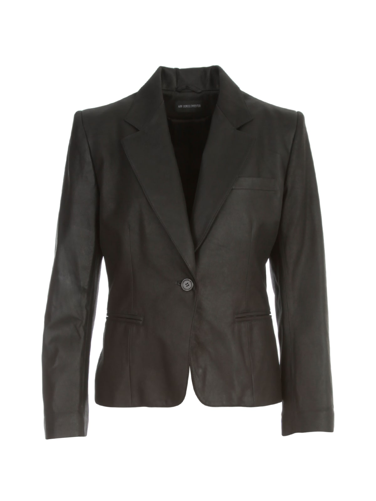 Ann Demeulemeester ANGELINA LEATHER CLASSIC JACKET