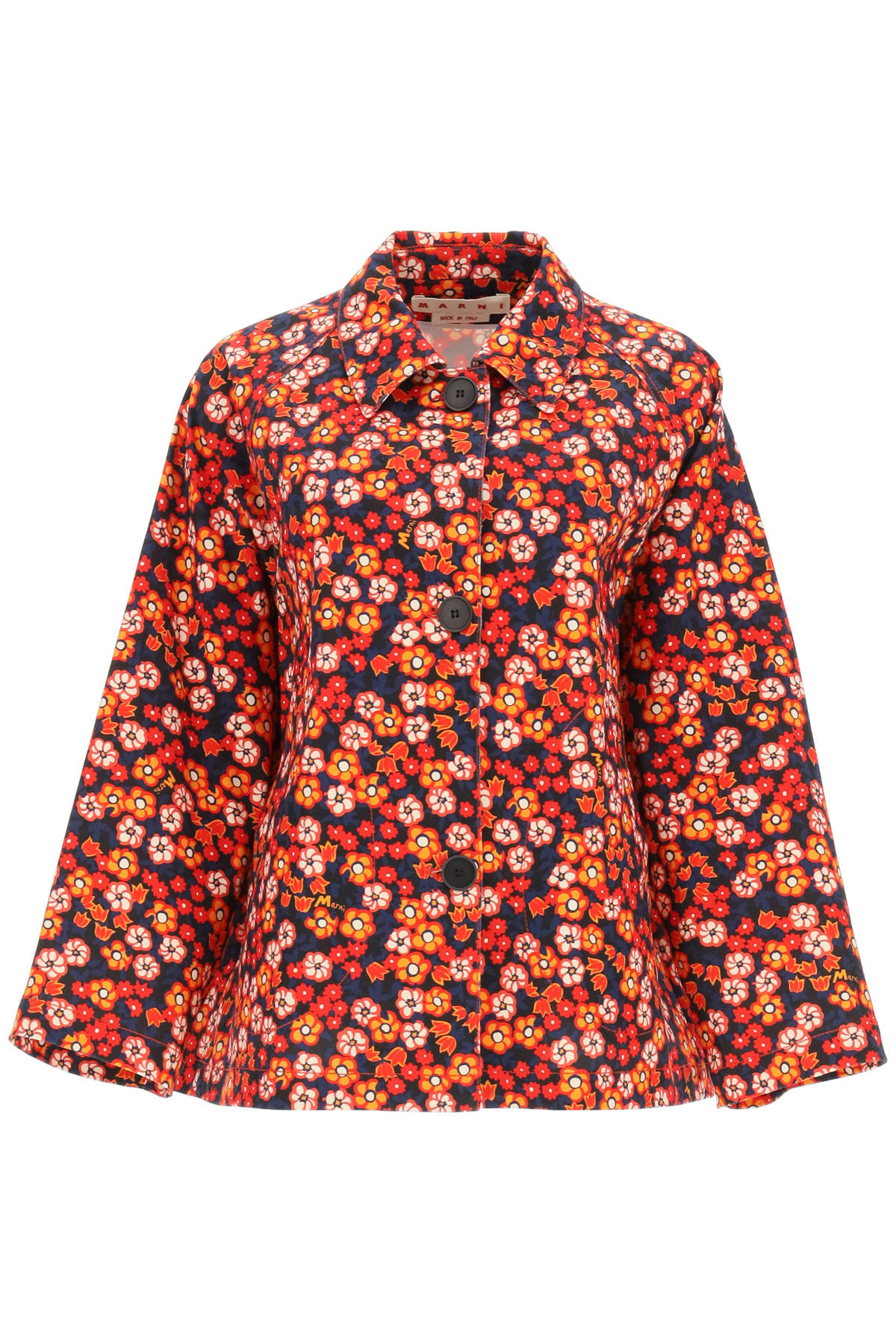 Marni POP GARDEN PRINT JACKET