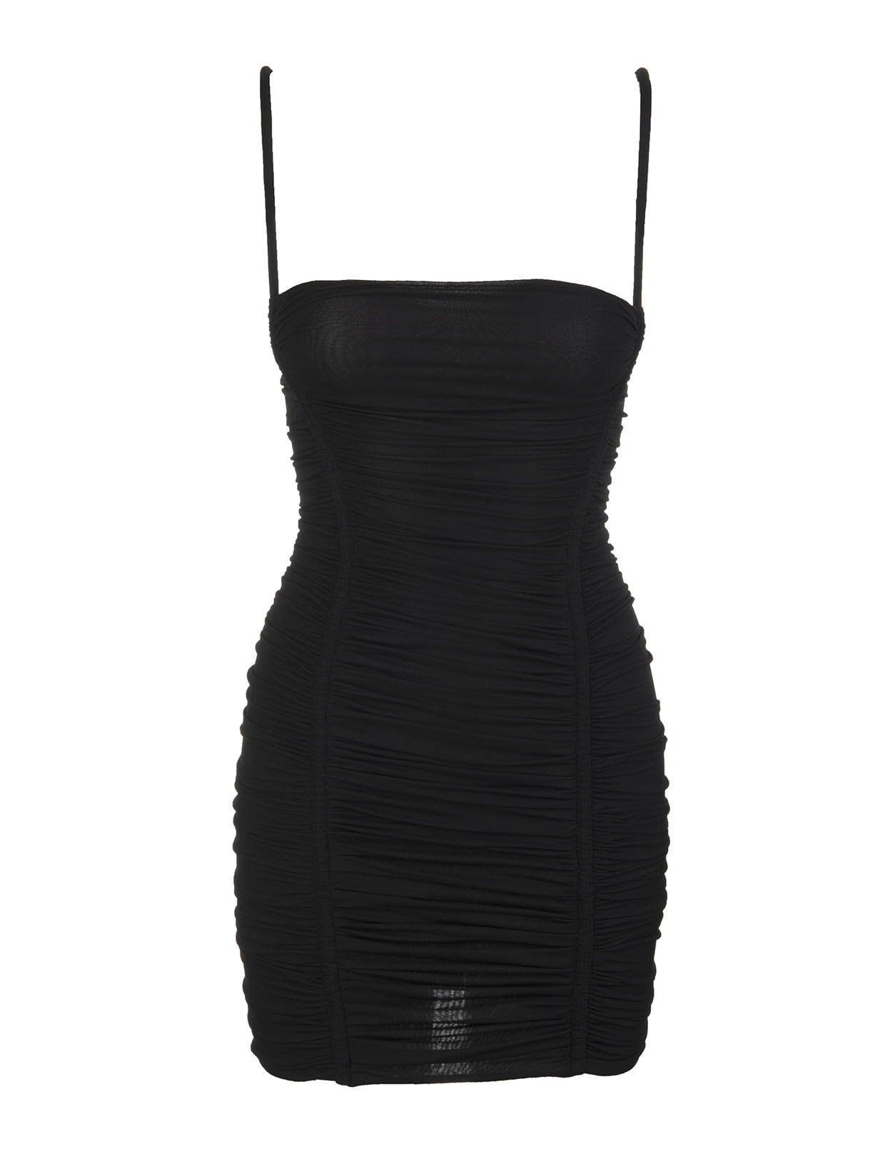 Buy Dsquared2 Black Bandage Short Dress online, shop Dsquared2 with free shipping