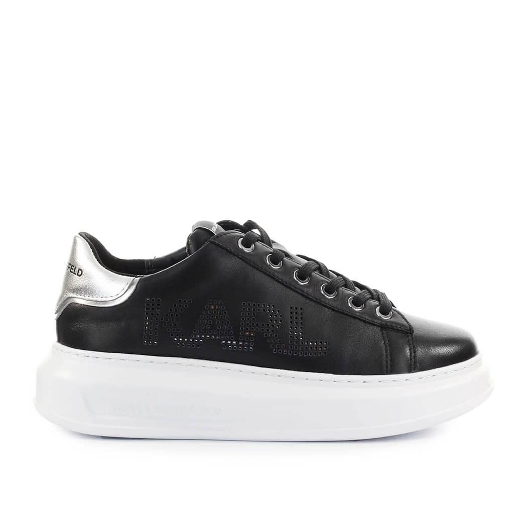 Karl Lagerfeld Kapri Karl Black Silver Sneaker
