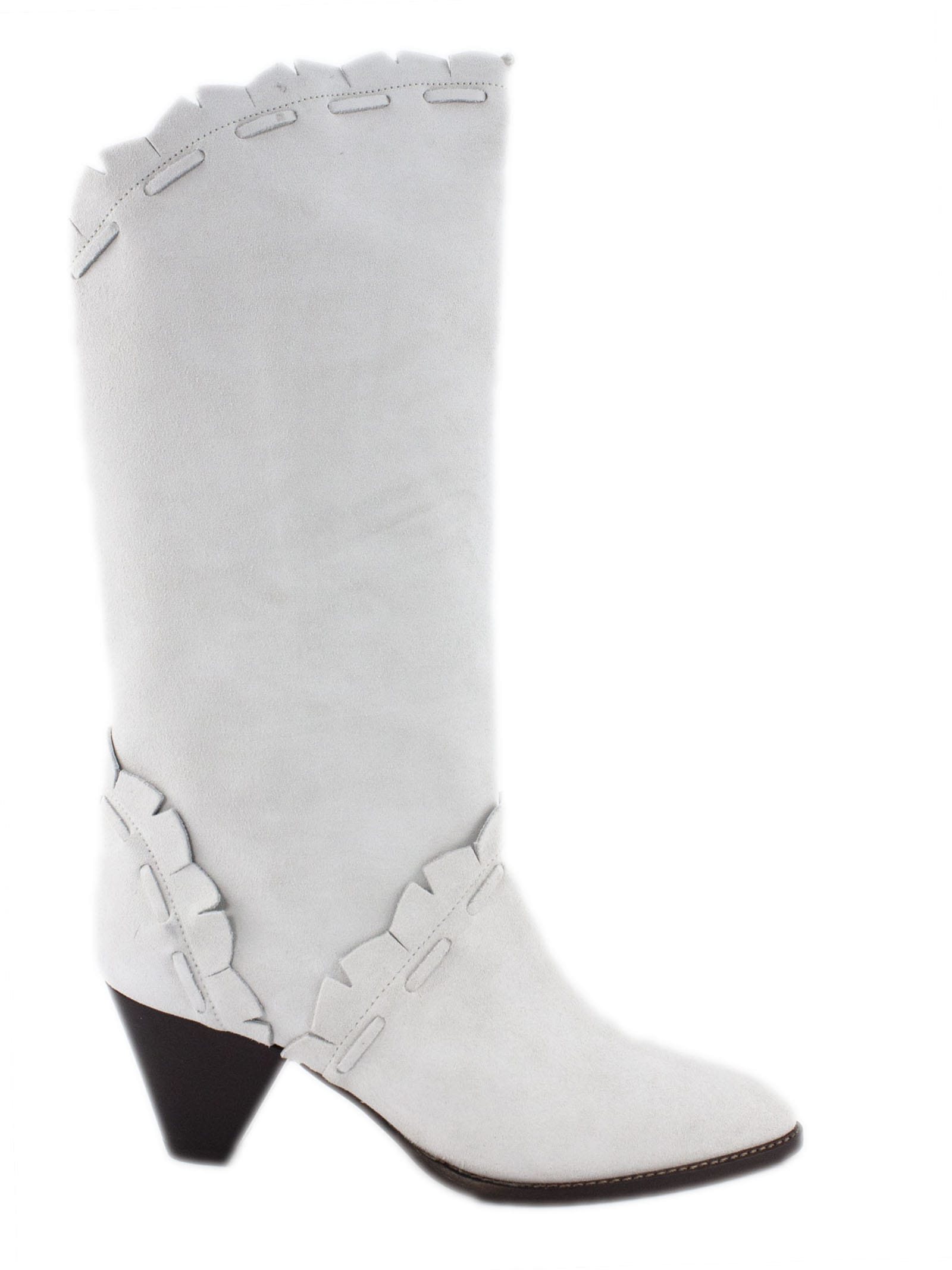 Isabel Marant White Suede Boots