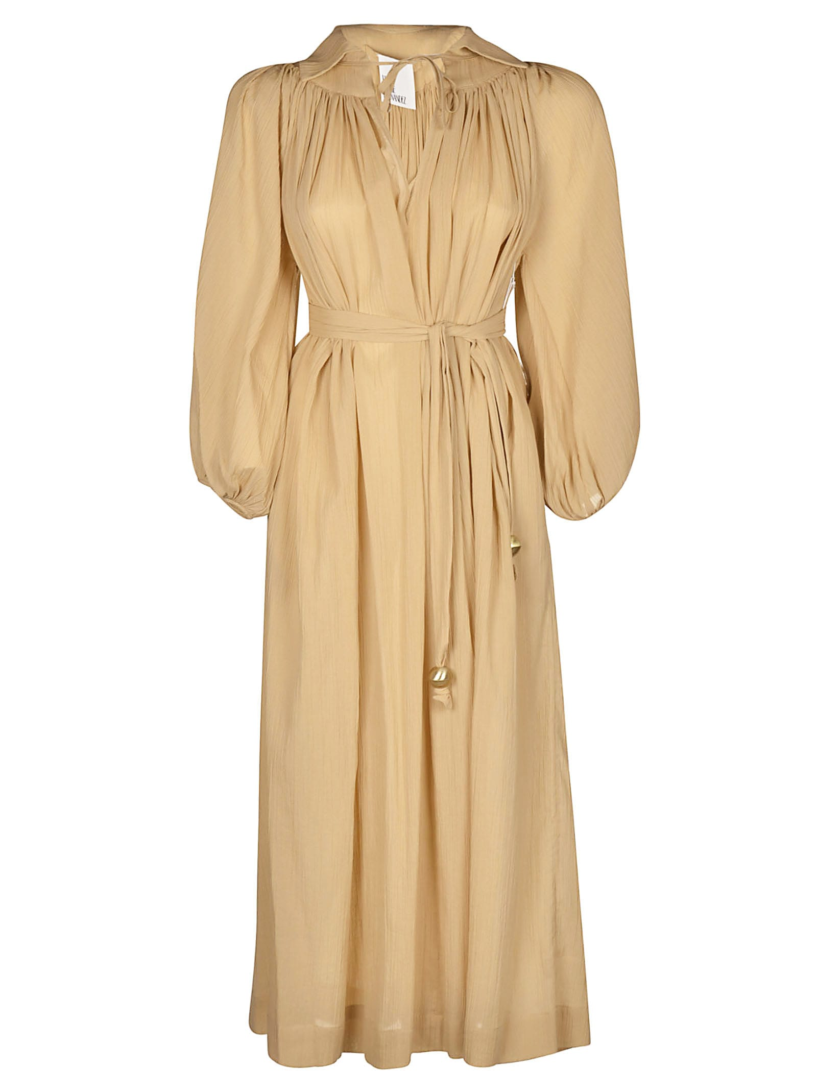 Lisa Marie Fernandez Collared Maxi Dress