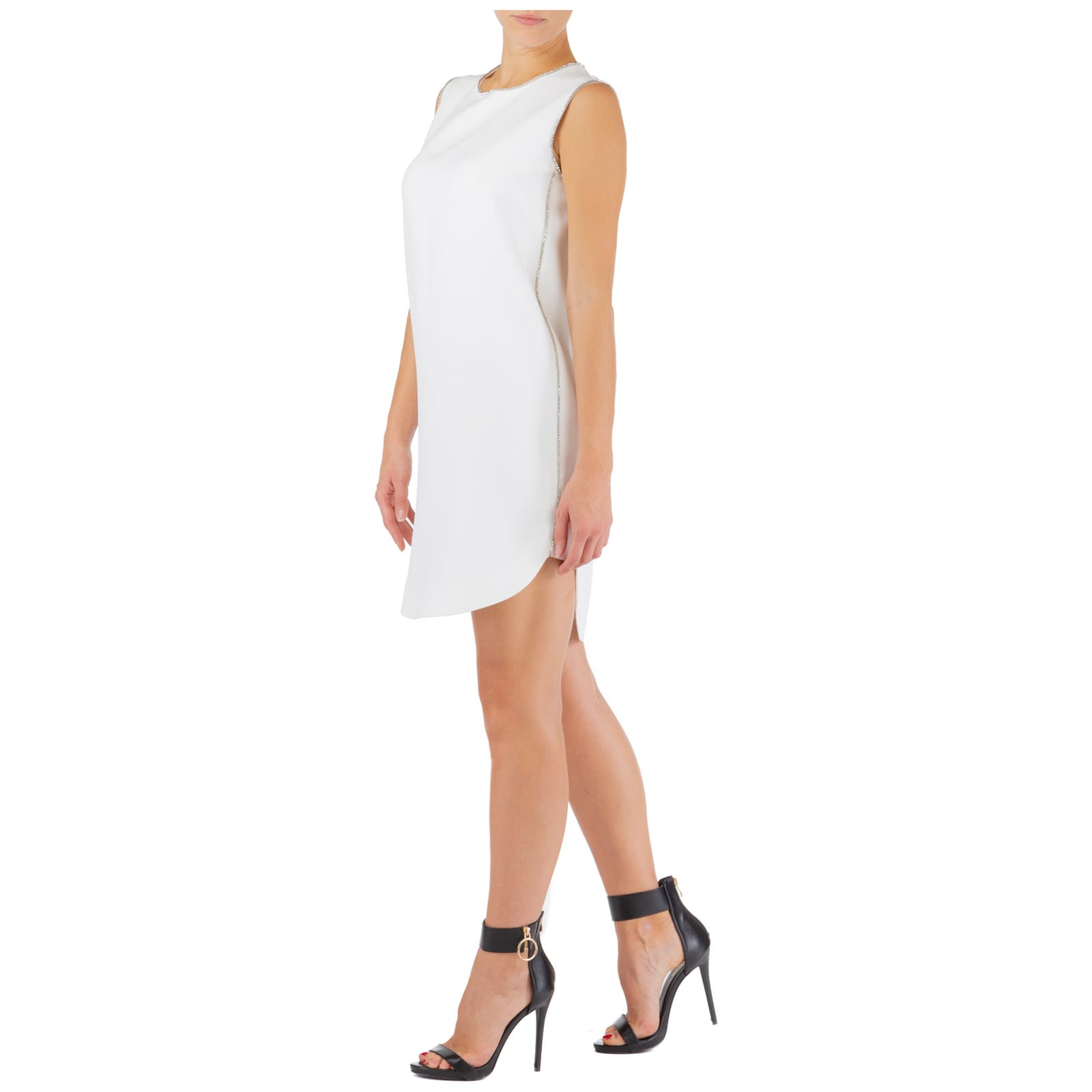 Buy Ermanno Scervino Logomania Knee Length Dresses online, shop Ermanno Scervino with free shipping