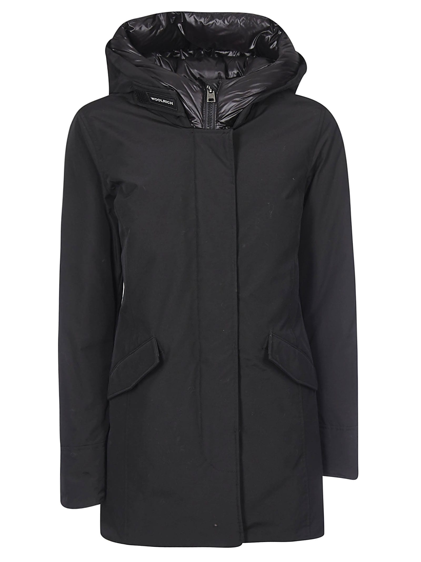 Photo of  Woolrich Large Hood Concealed Parka- shop Woolrich jackets online sales