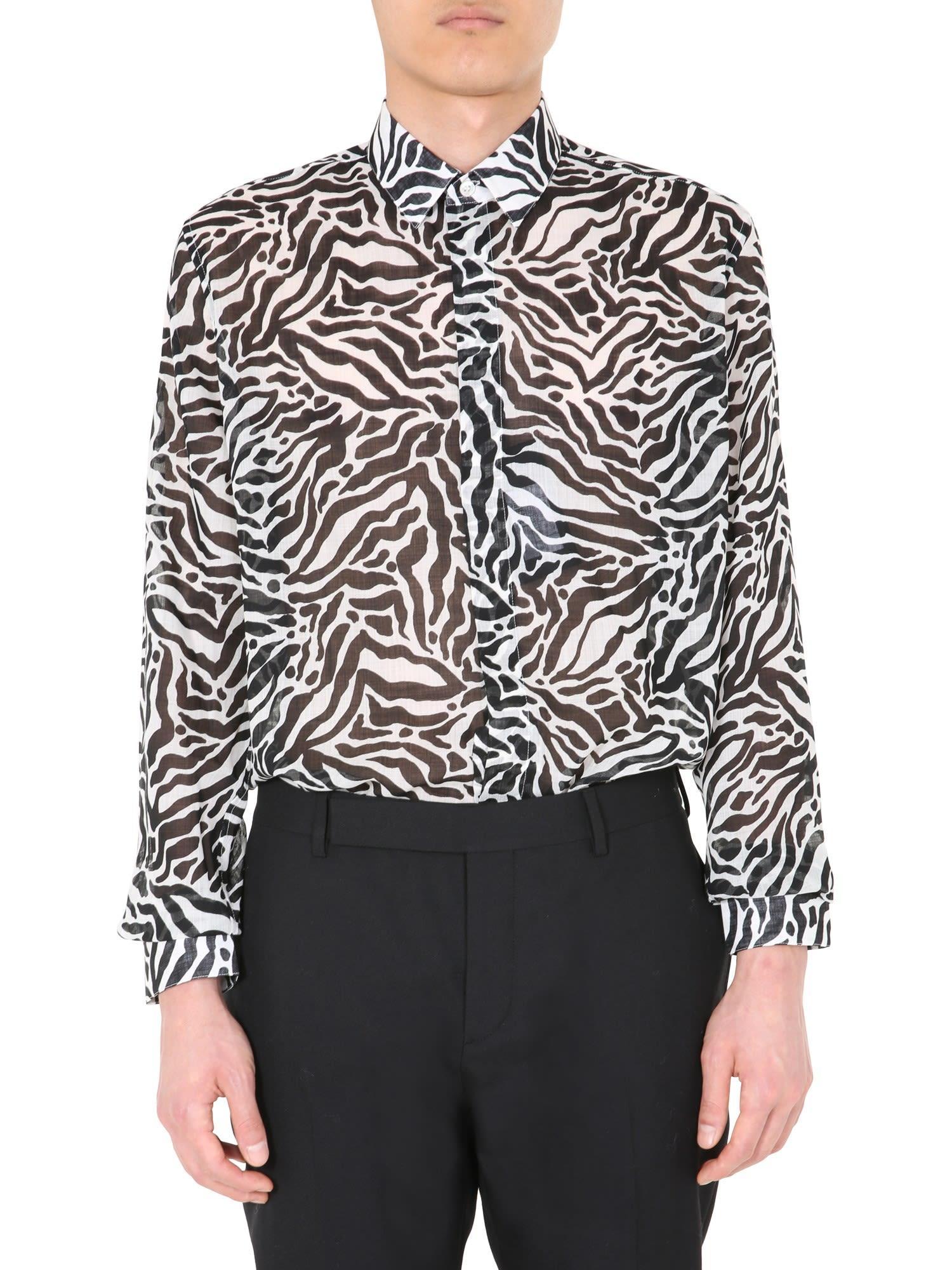 Saint Laurent Yves Collar Shirt