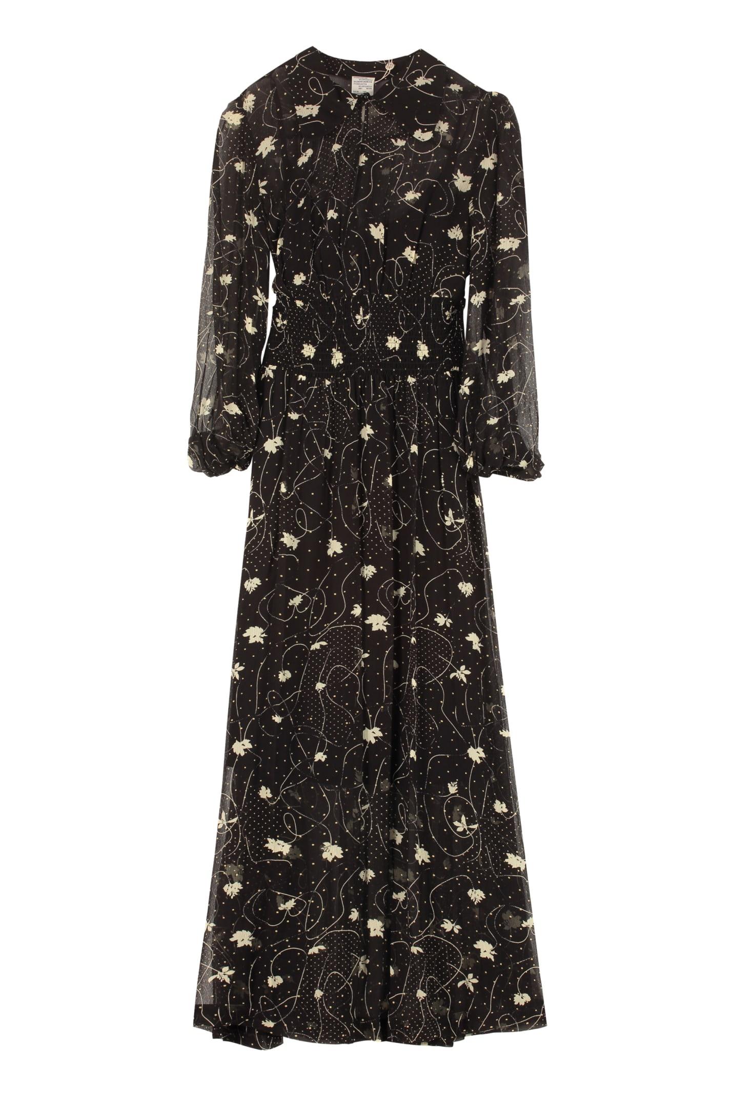 Buy Baum und Pferdgarten Amber Printed Maxi Dress online, shop Baum und Pferdgarten with free shipping