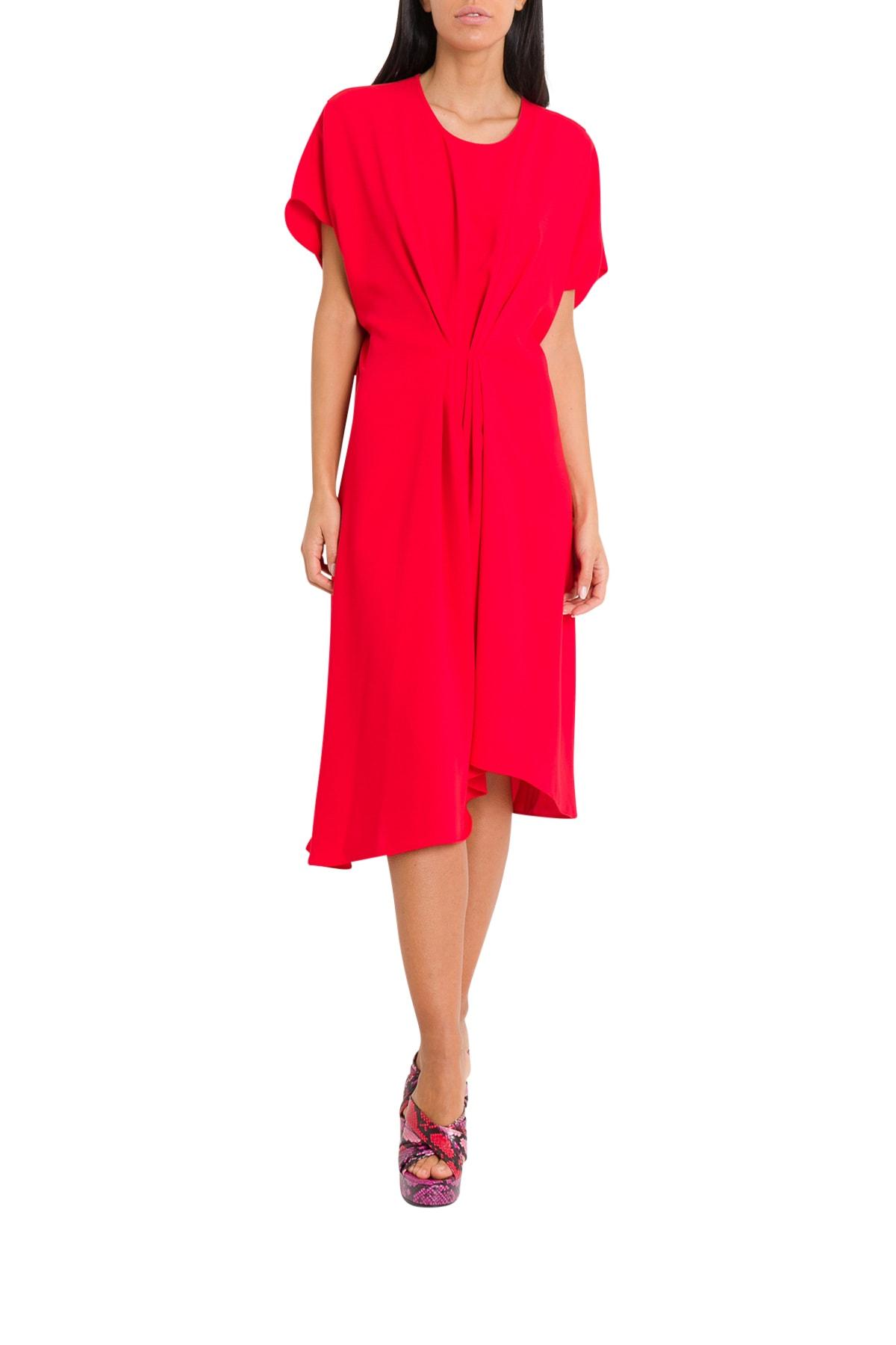 Kenzo Gathered Asymmetric Dress