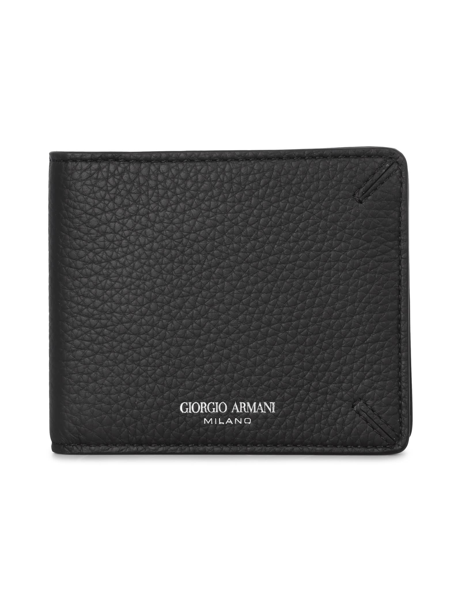 Giorgio Armani Leather Wallet