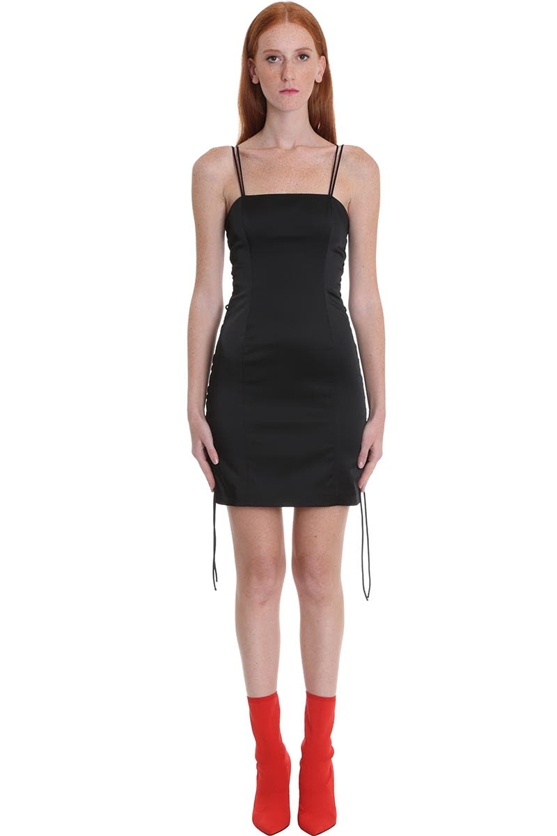 Buy Ben Taverniti Unravel Project Dress In Black Polyamide online, shop Ben Taverniti Unravel Project with free shipping