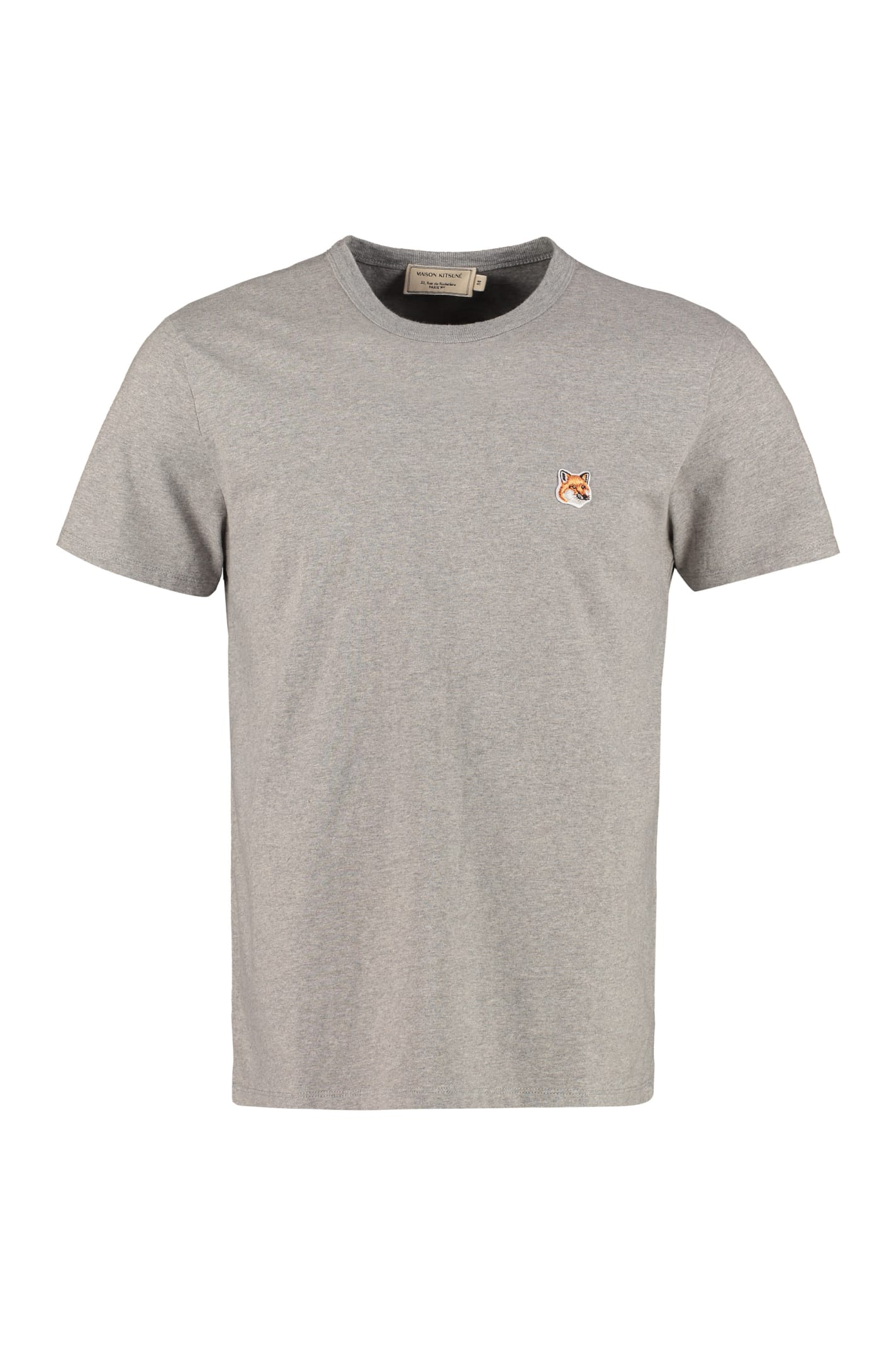 Maison Kitsuné T-shirts CREW-NECK COTTON T-SHIRT