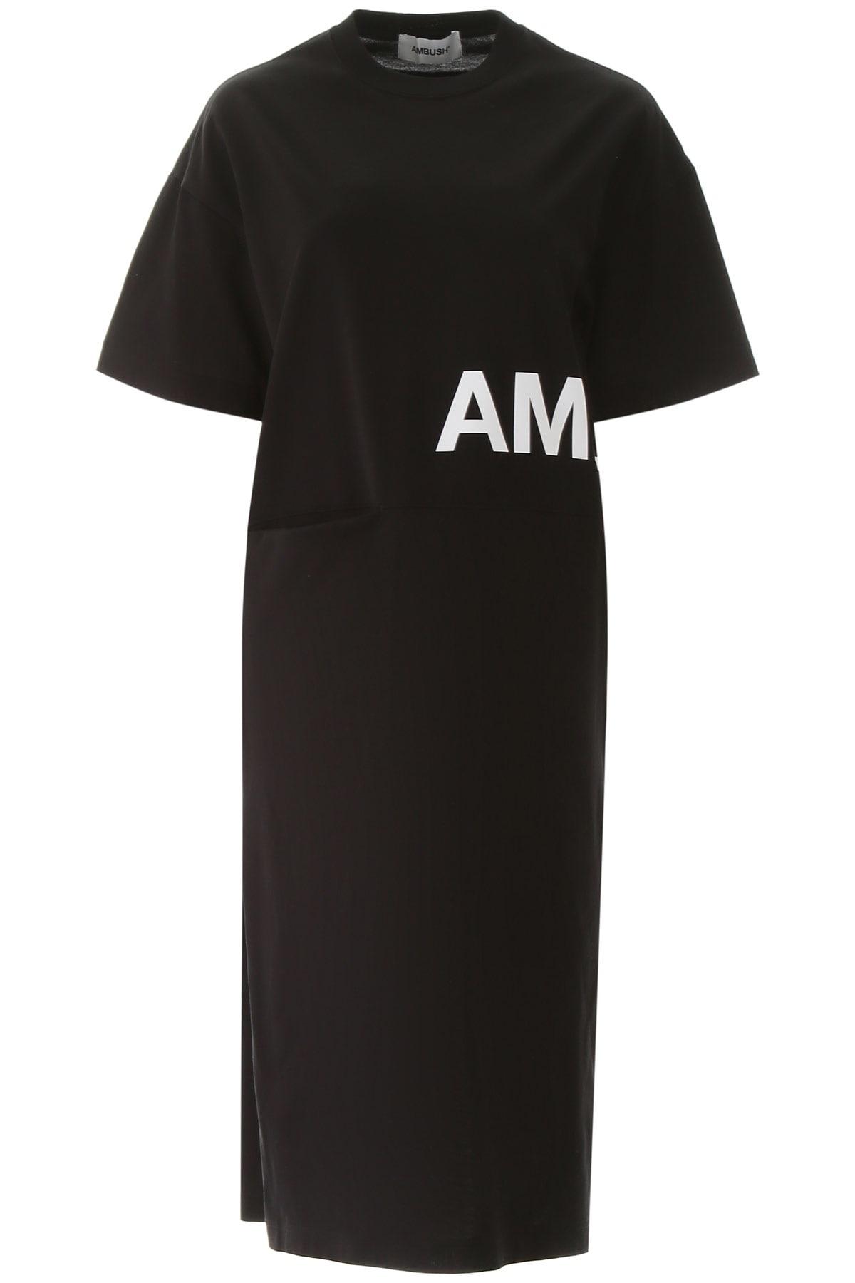 Buy AMBUSH Logo T-shirt Dress online, shop AMBUSH with free shipping