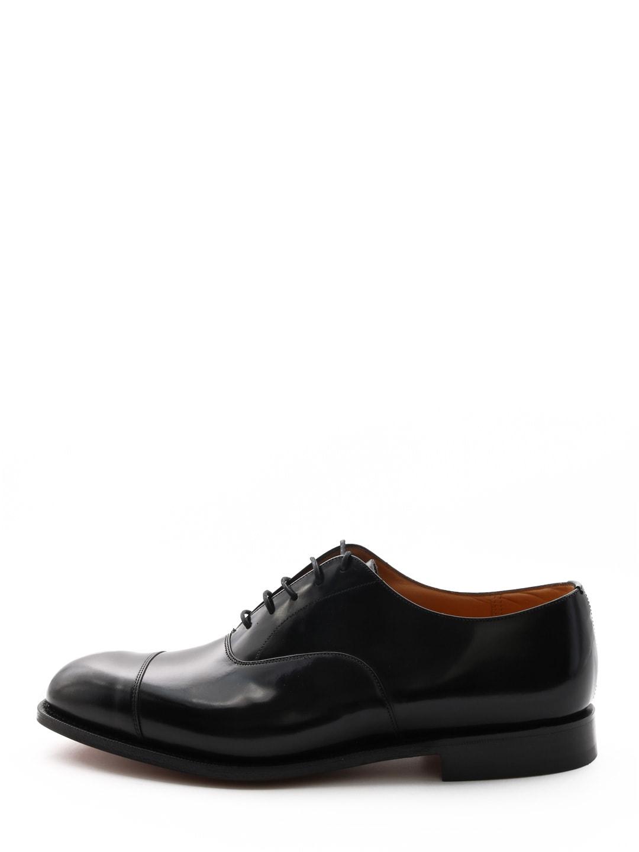 Churchs Leather Oxford Black
