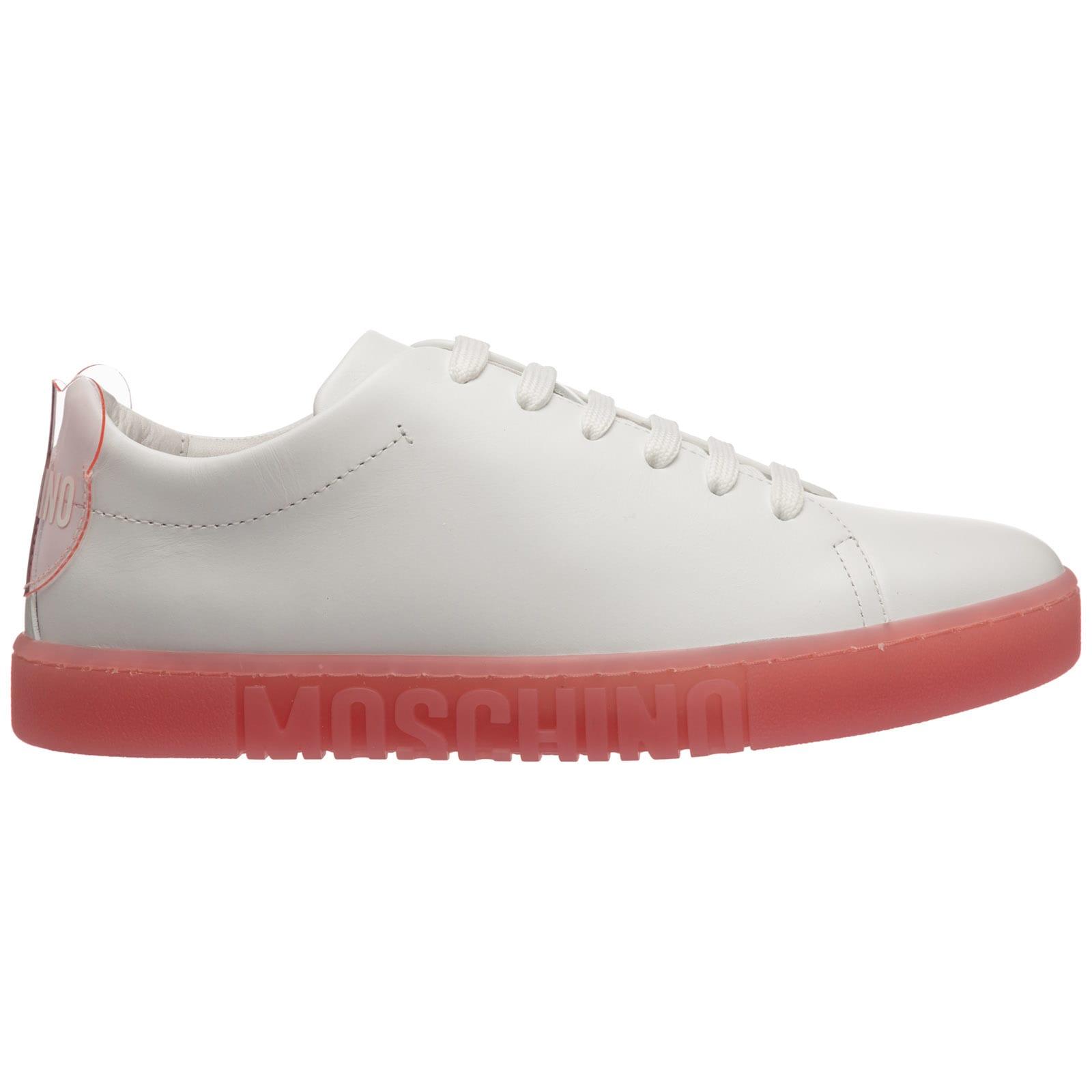 Buy Moschino K/ikonik Kapri Sneakers online, shop Moschino shoes with free shipping