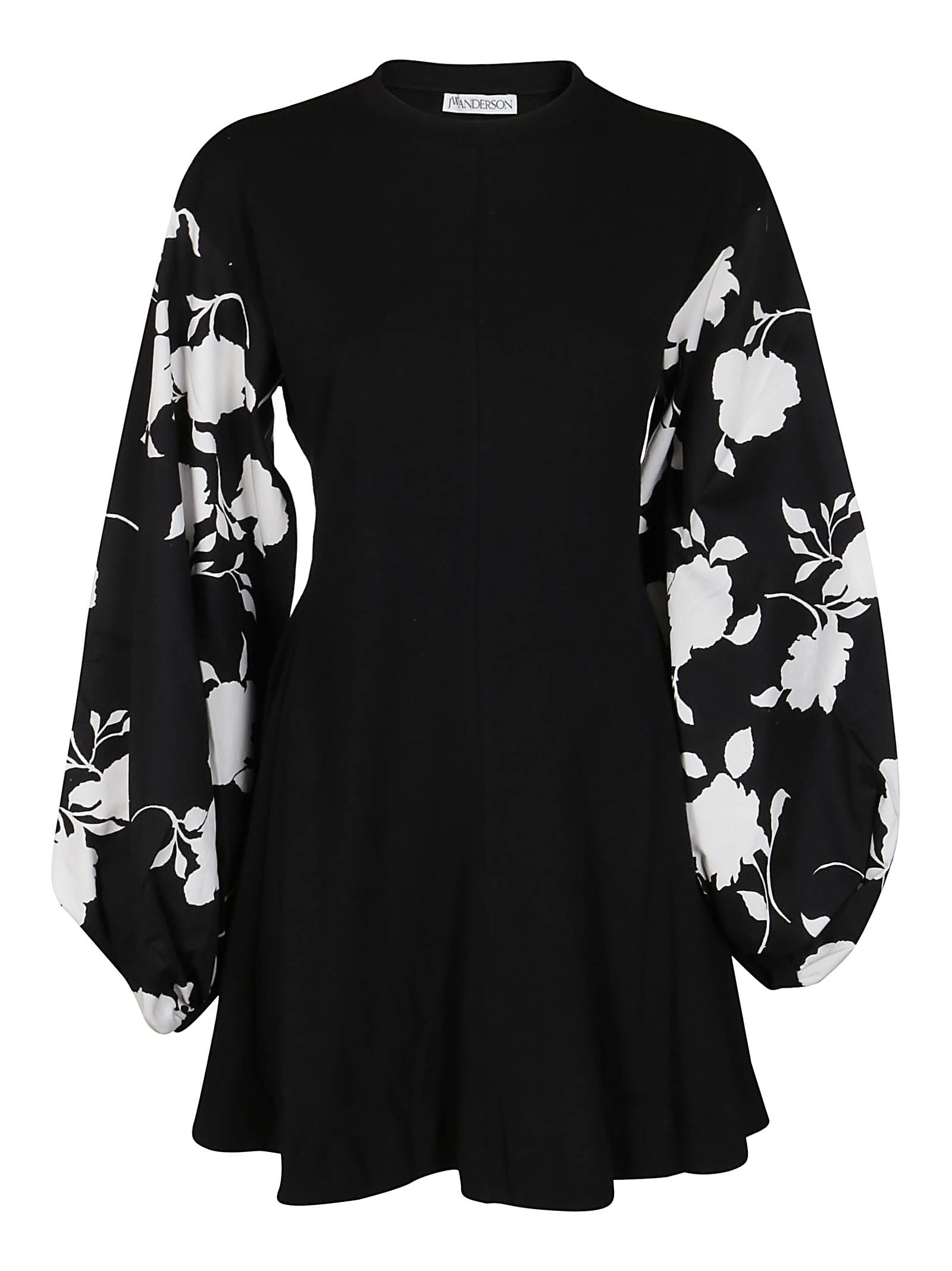Jw Anderson Mini dresses BLACK COTTON DRESS