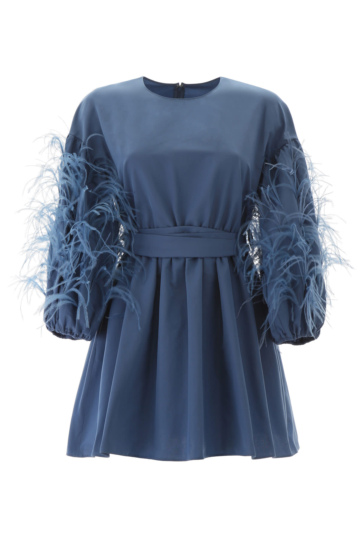 Buy Feather Mini Dress online, shop Valentino with free shipping