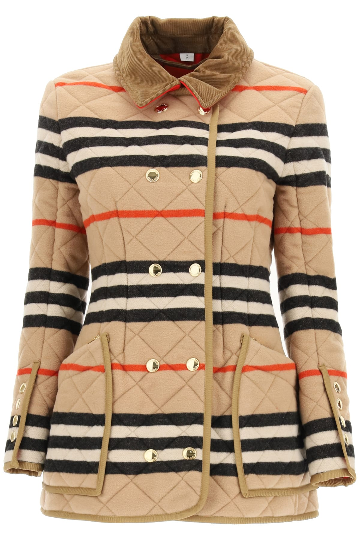 Burberry RIDING JACKET WITH STRIPED MOTIF