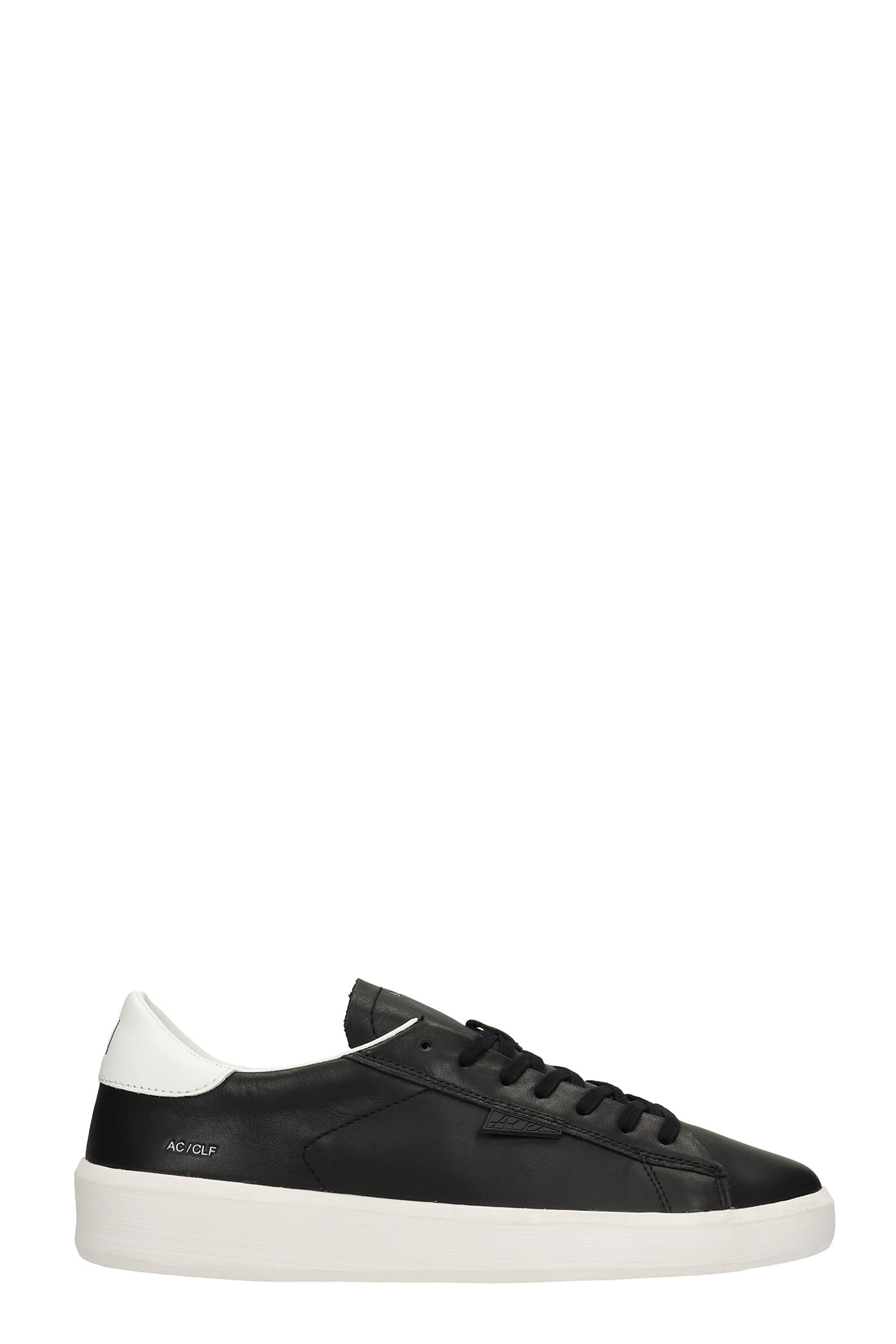 Ace Sneakers In Black Leather