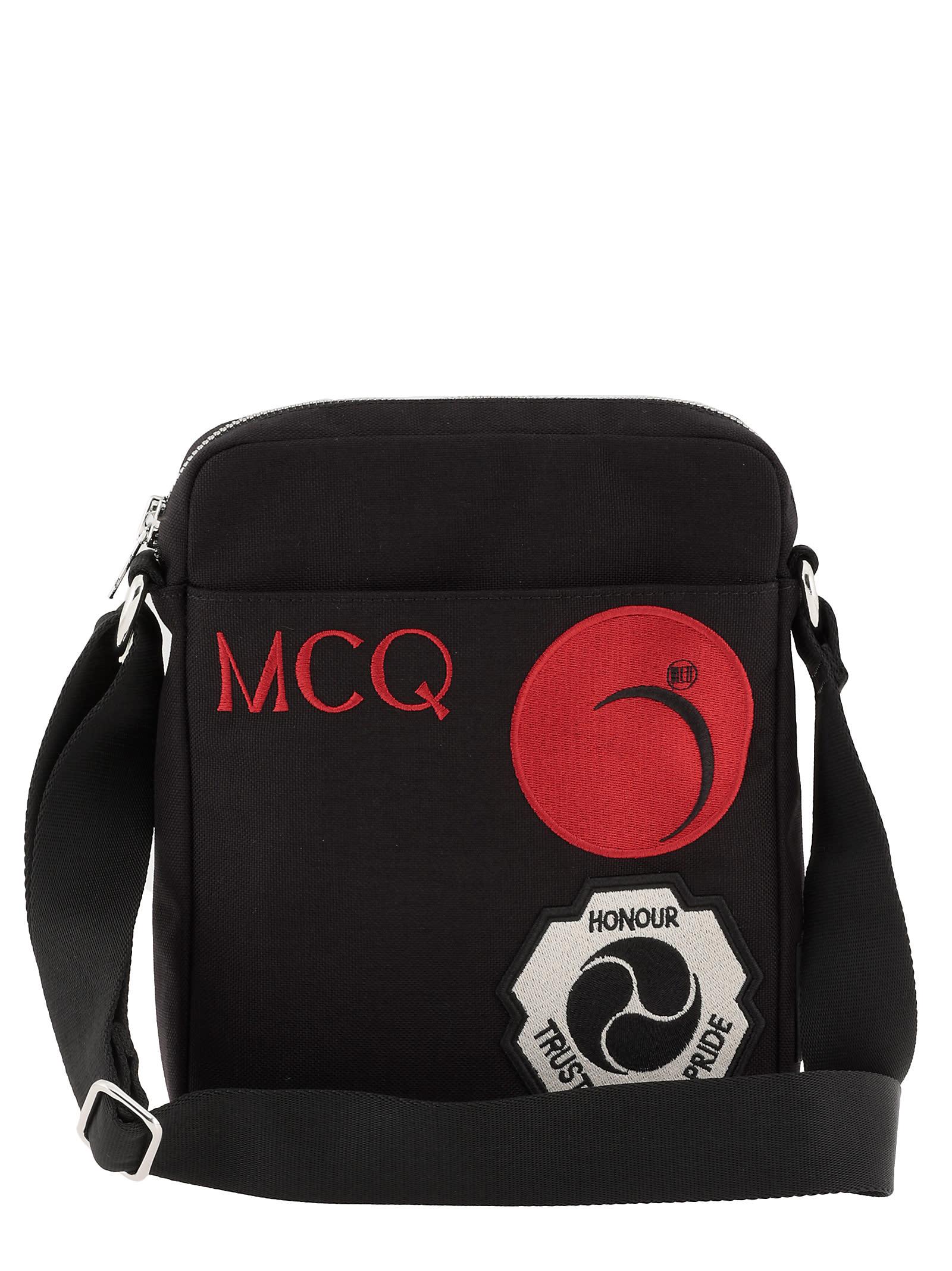 Mcq By Alexander Mcqueen TECH FABRIC SHOULDER BAG