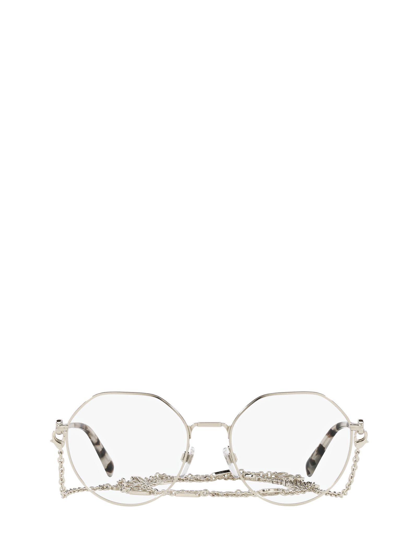 Valentino Valentino Va1021 Pale Gold Glasses