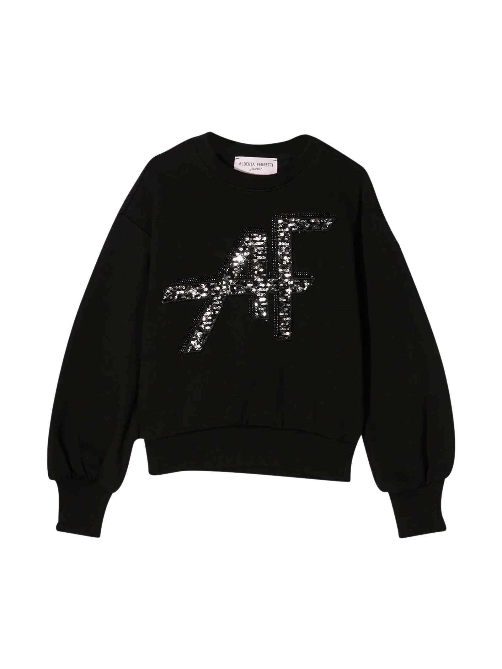 Alberta Ferretti Black Sweatshirt