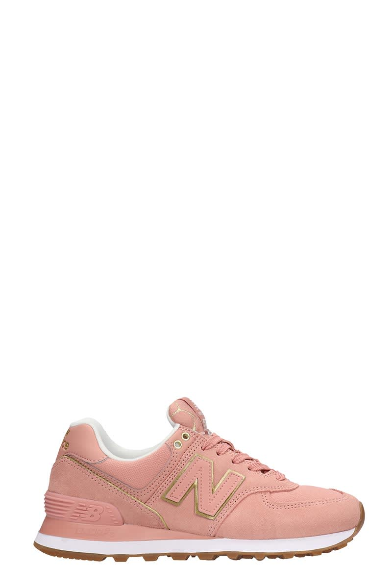 New Balance 574 Sneakers In Rose-pink