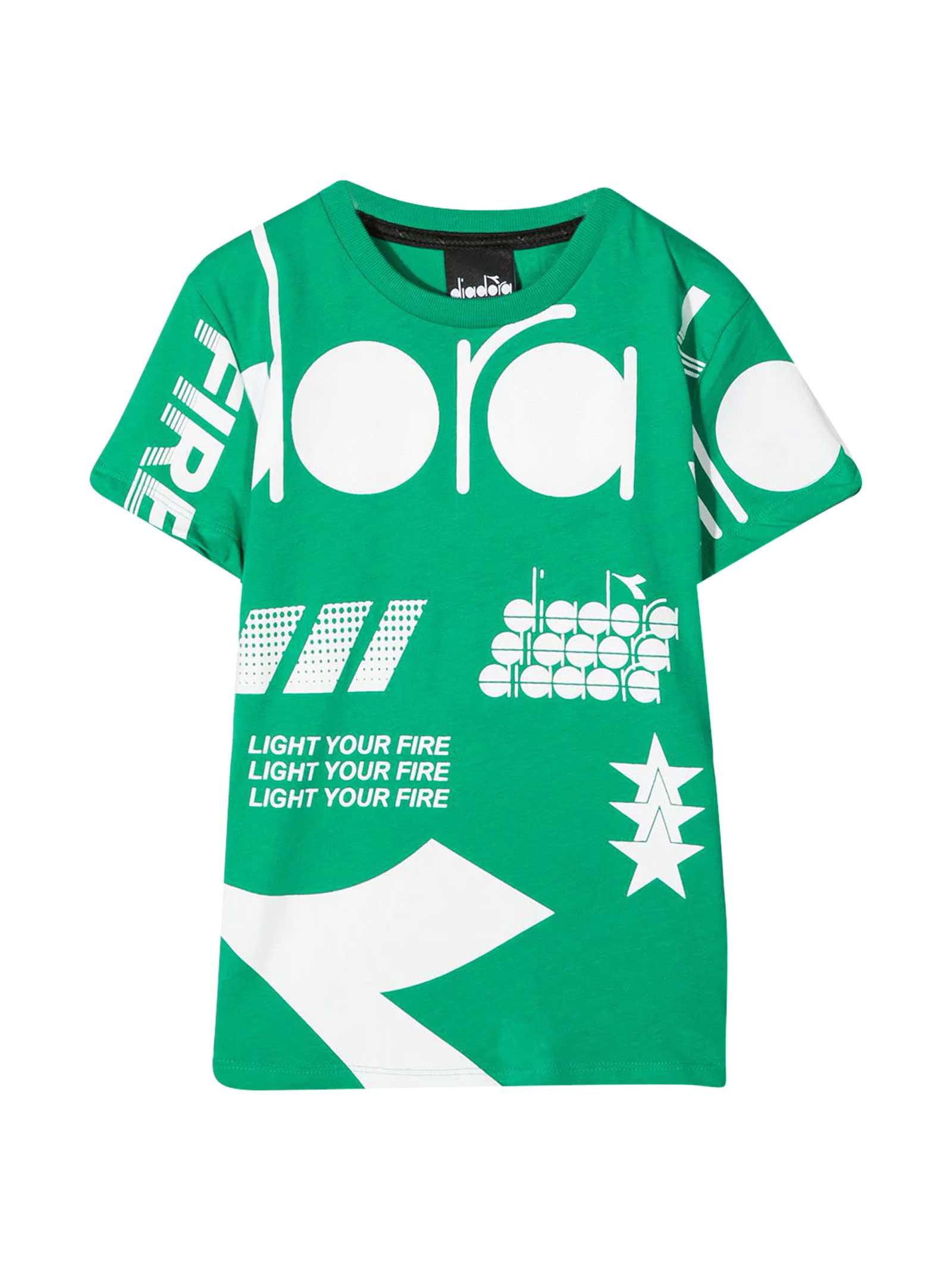 Teen Green T-shirt