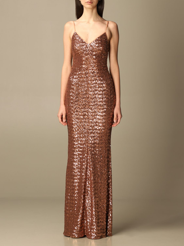 Elisabetta Franchi Dress Elisabetta Franchi Long Dress In Sequins