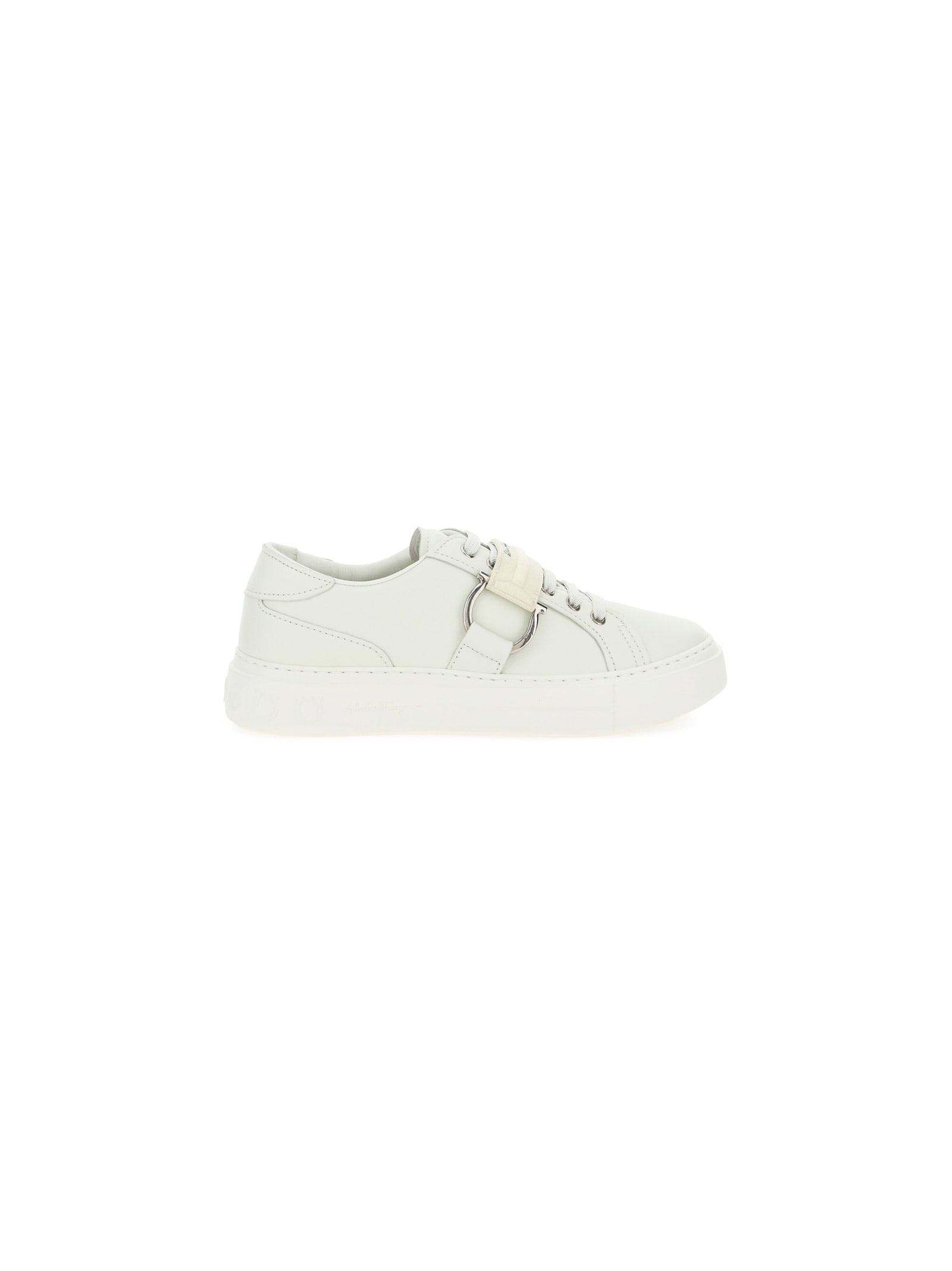 Salvatore Ferragamo Leathers PHARREL SNEAKERS