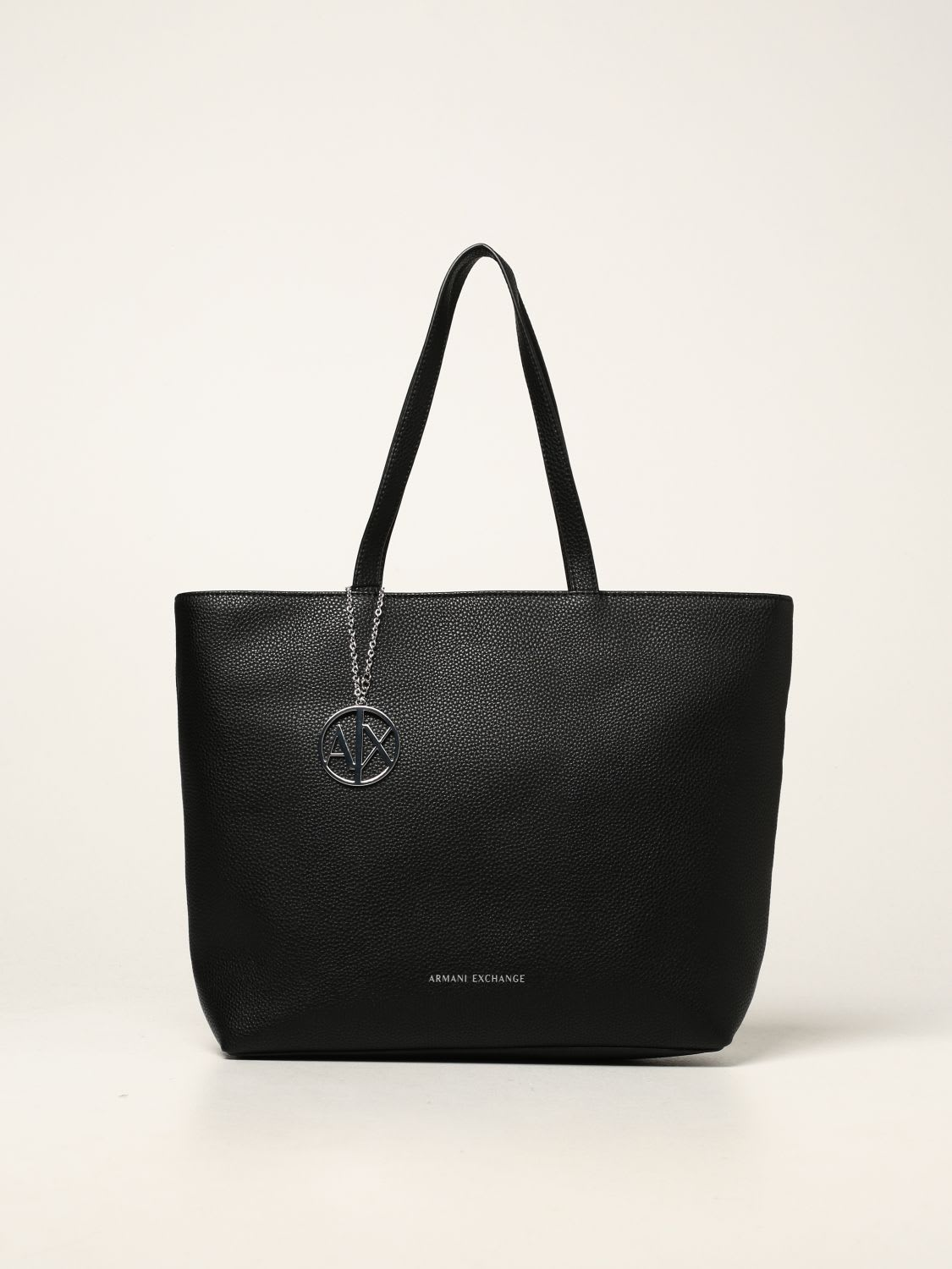 Armani Exchange Tote Bags Armani Exchange Crossbody Bag In Textured Synthetic Leather
