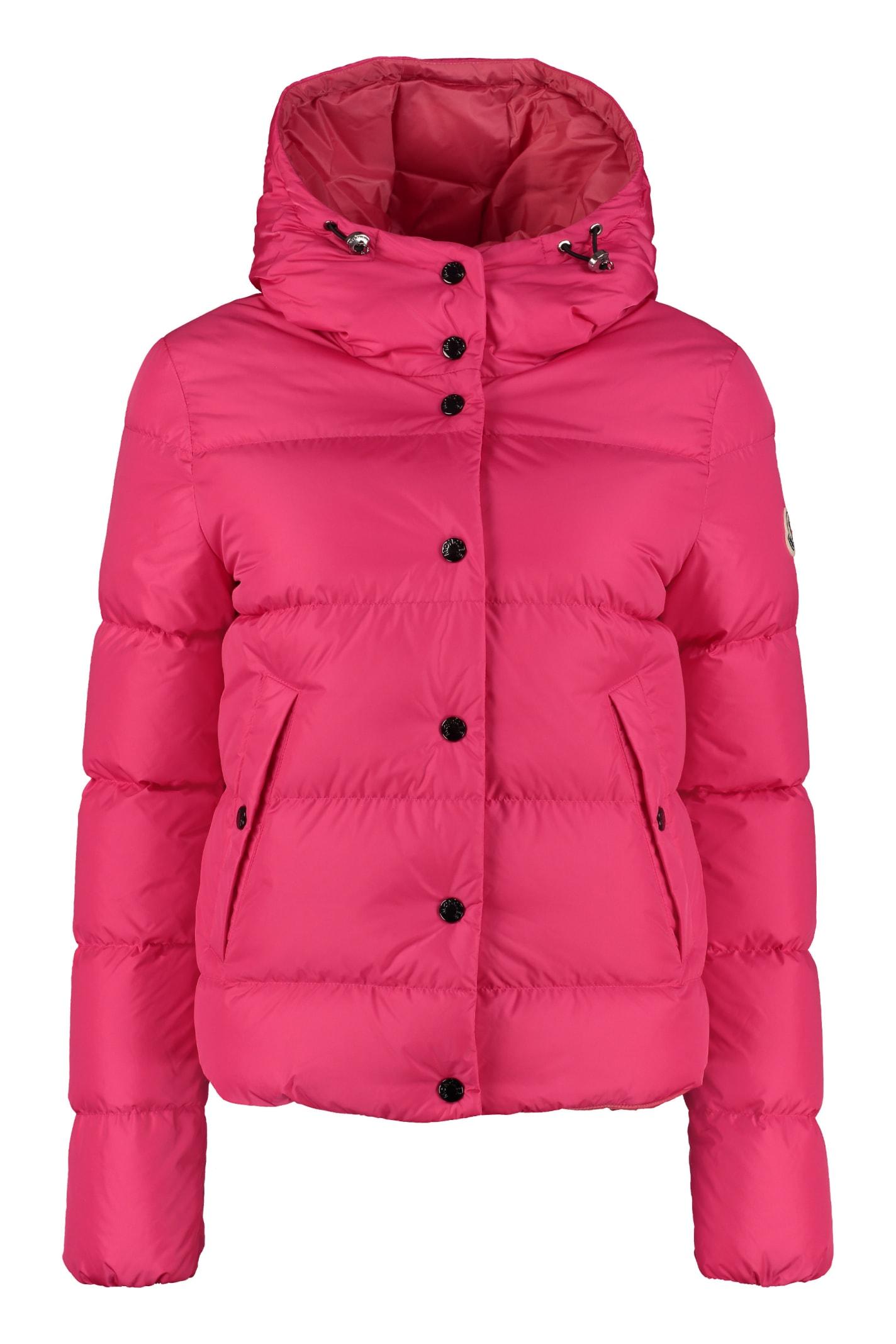 Moncler Lena Hooded Down Jacket
