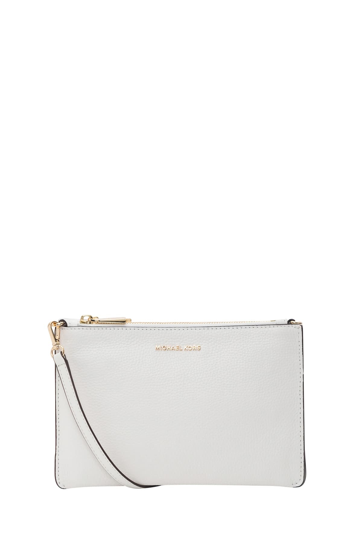 world-wide renown various kinds of the latest Best price on the market at italist | MICHAEL Michael Kors MICHAEL Michael  Kors Large Pebbled Leather Double-pouch Crossbody