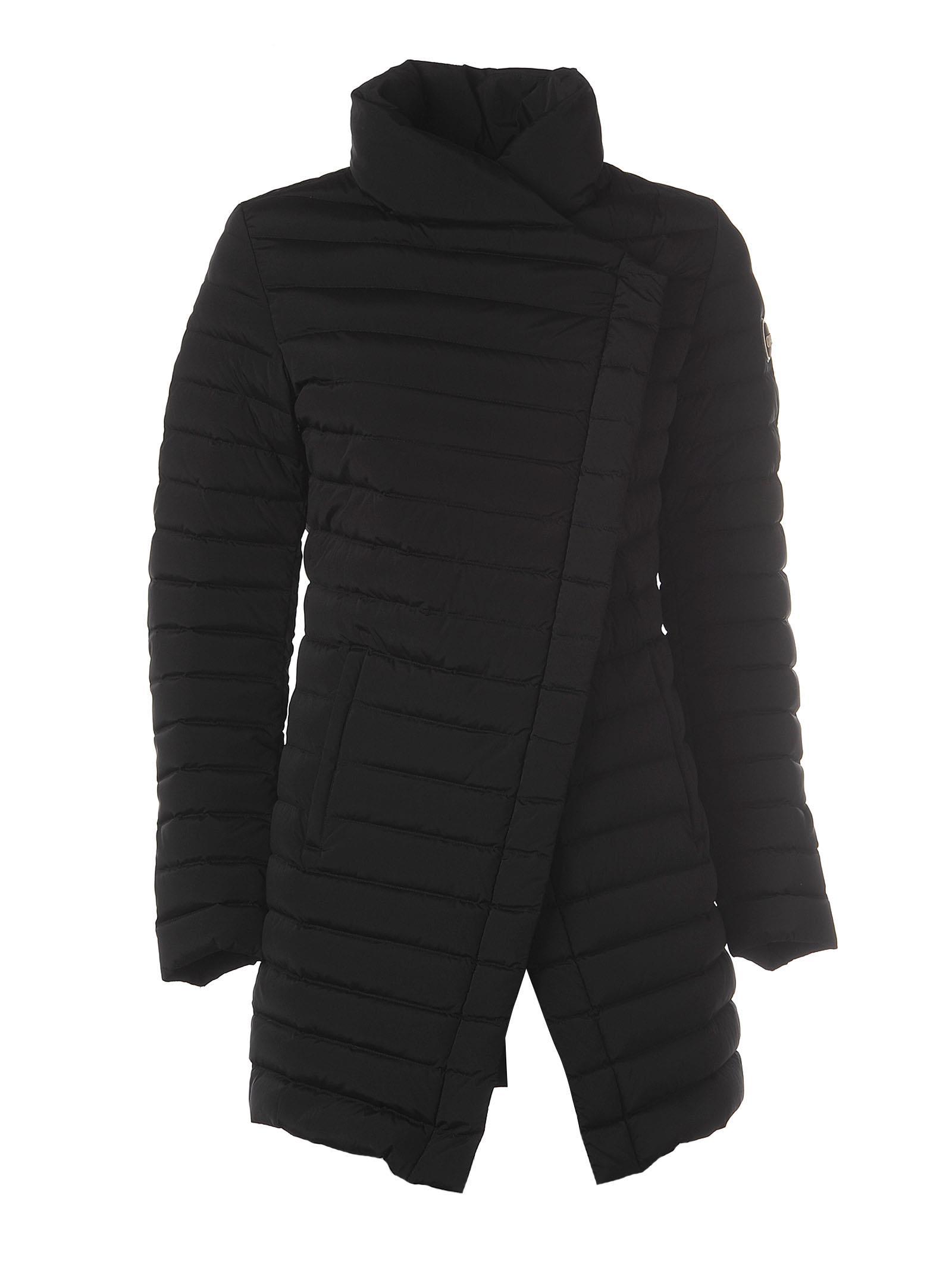 Colmar Black Quilted Jacket