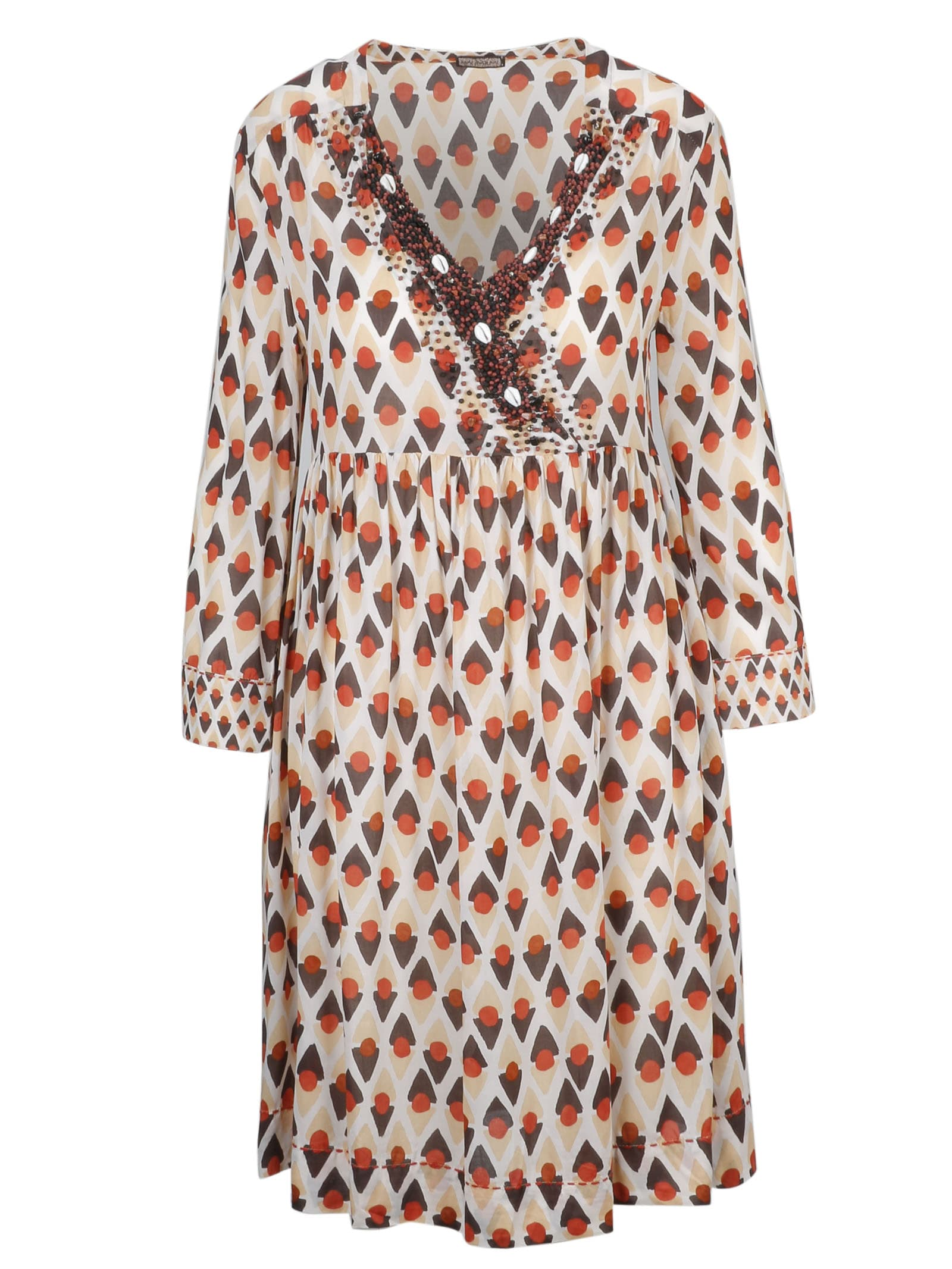 Buy Malìparmi Embellished Dress online, shop Malìparmi with free shipping