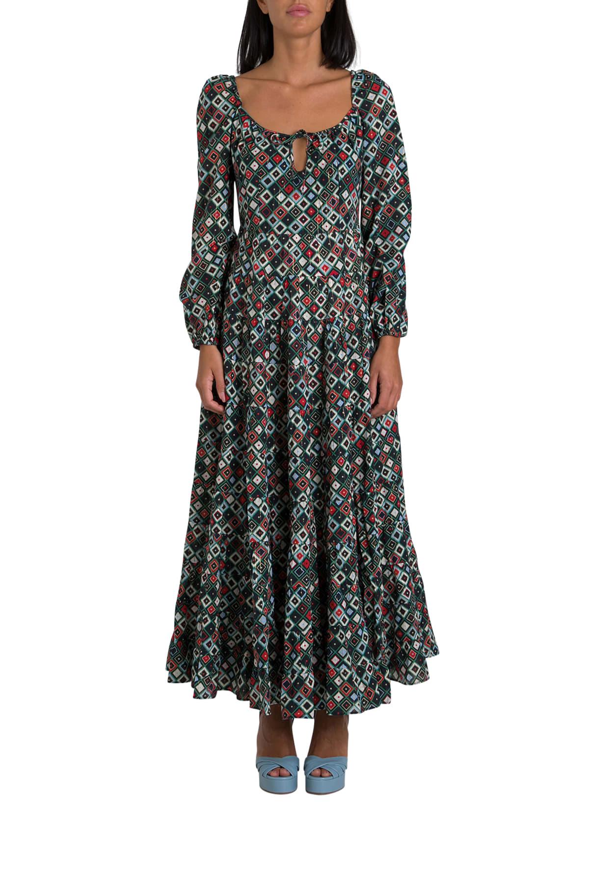 Buy RIXO Madaxi Dress online, shop RIXO with free shipping