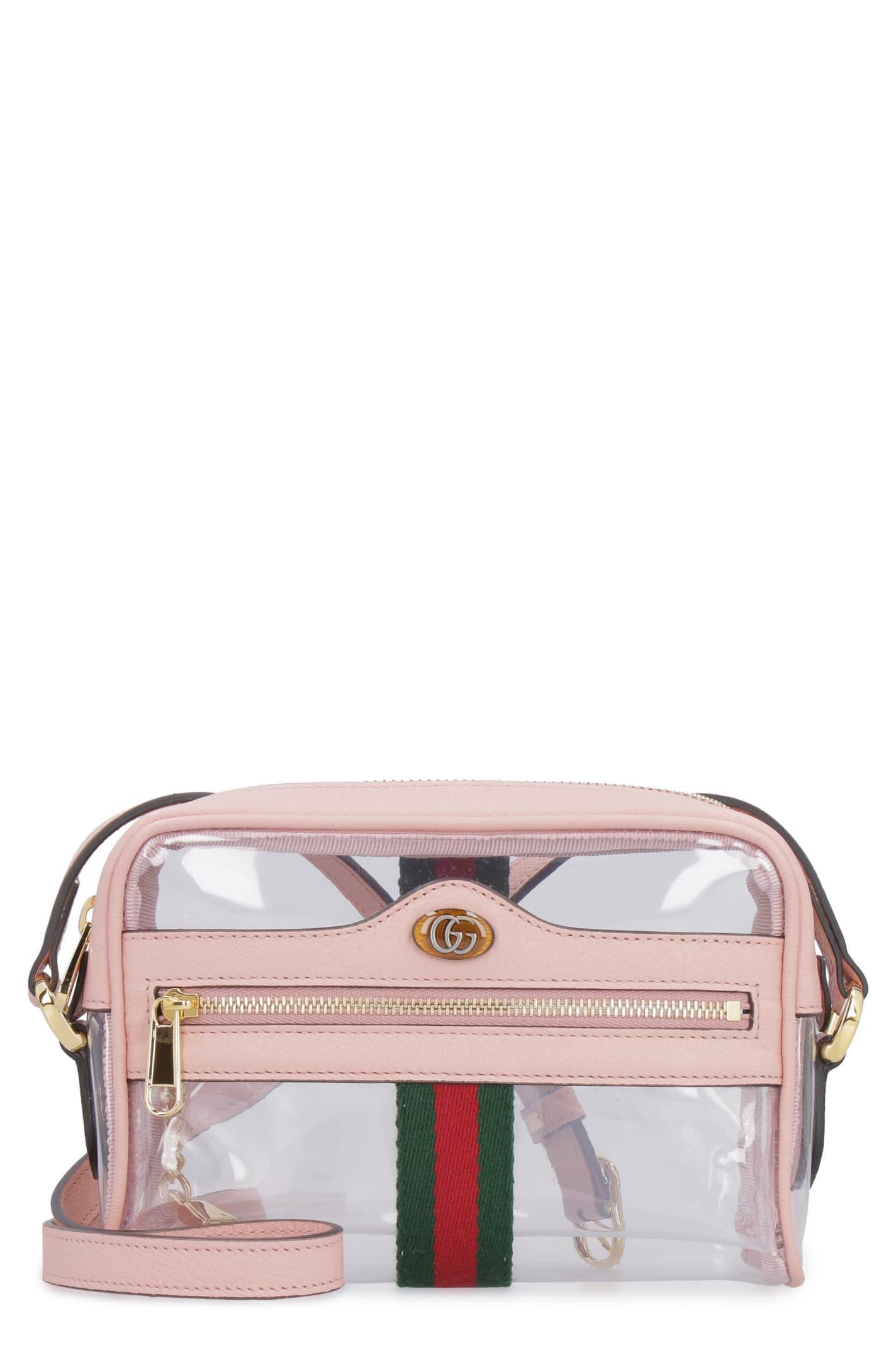 53a273e4e Gucci Gucci Ophidia Vinyl Shoulder Bag - Transparent - 10934742 ...