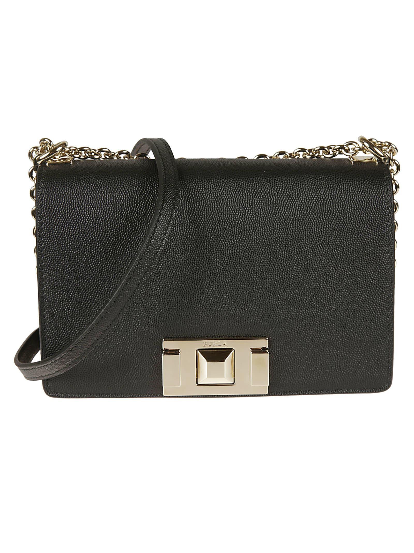 Furla Flap Chain Shoulder Bag