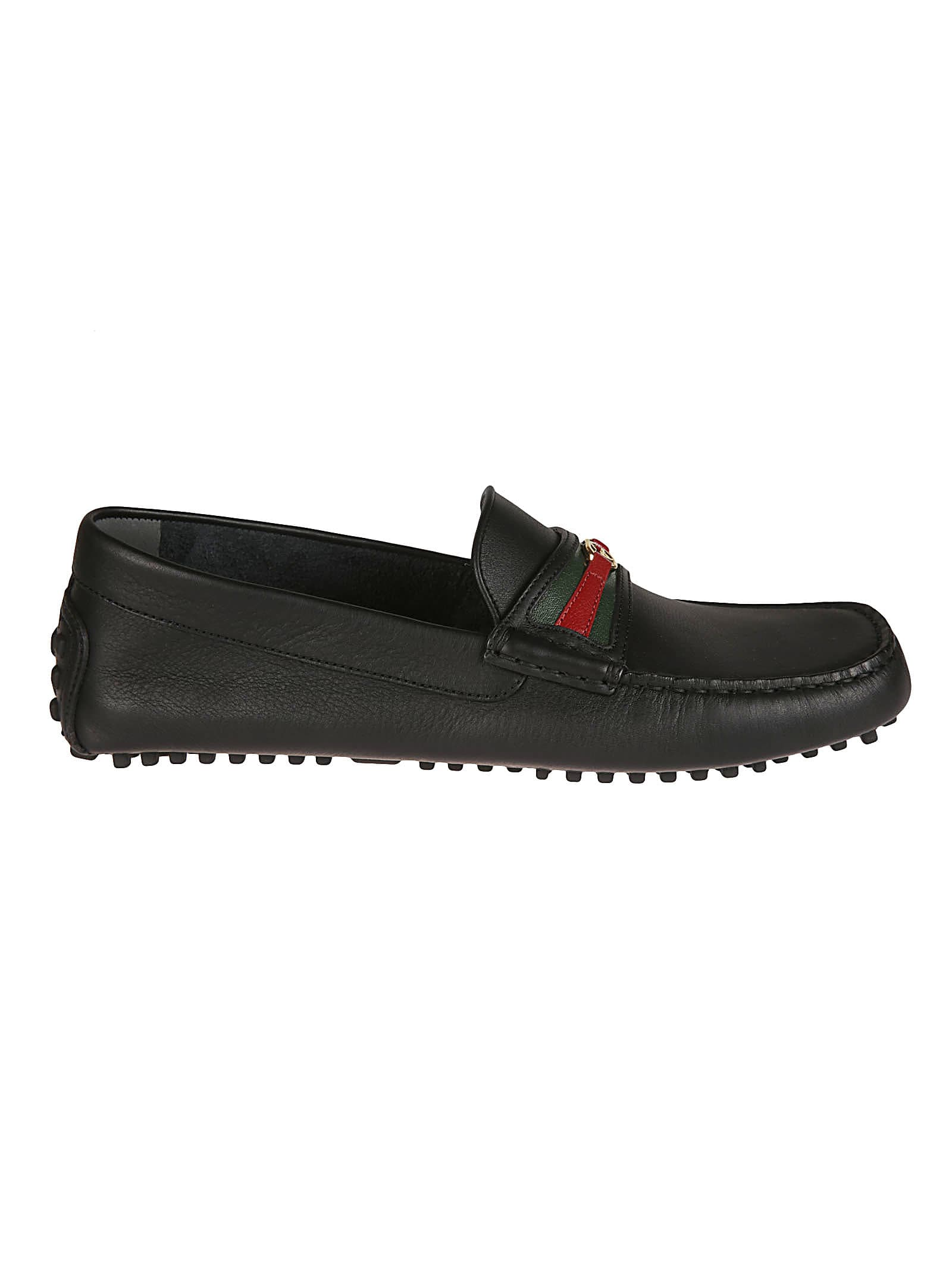 Gucci Leathers CLOVE CALF SOFT LOAFERS