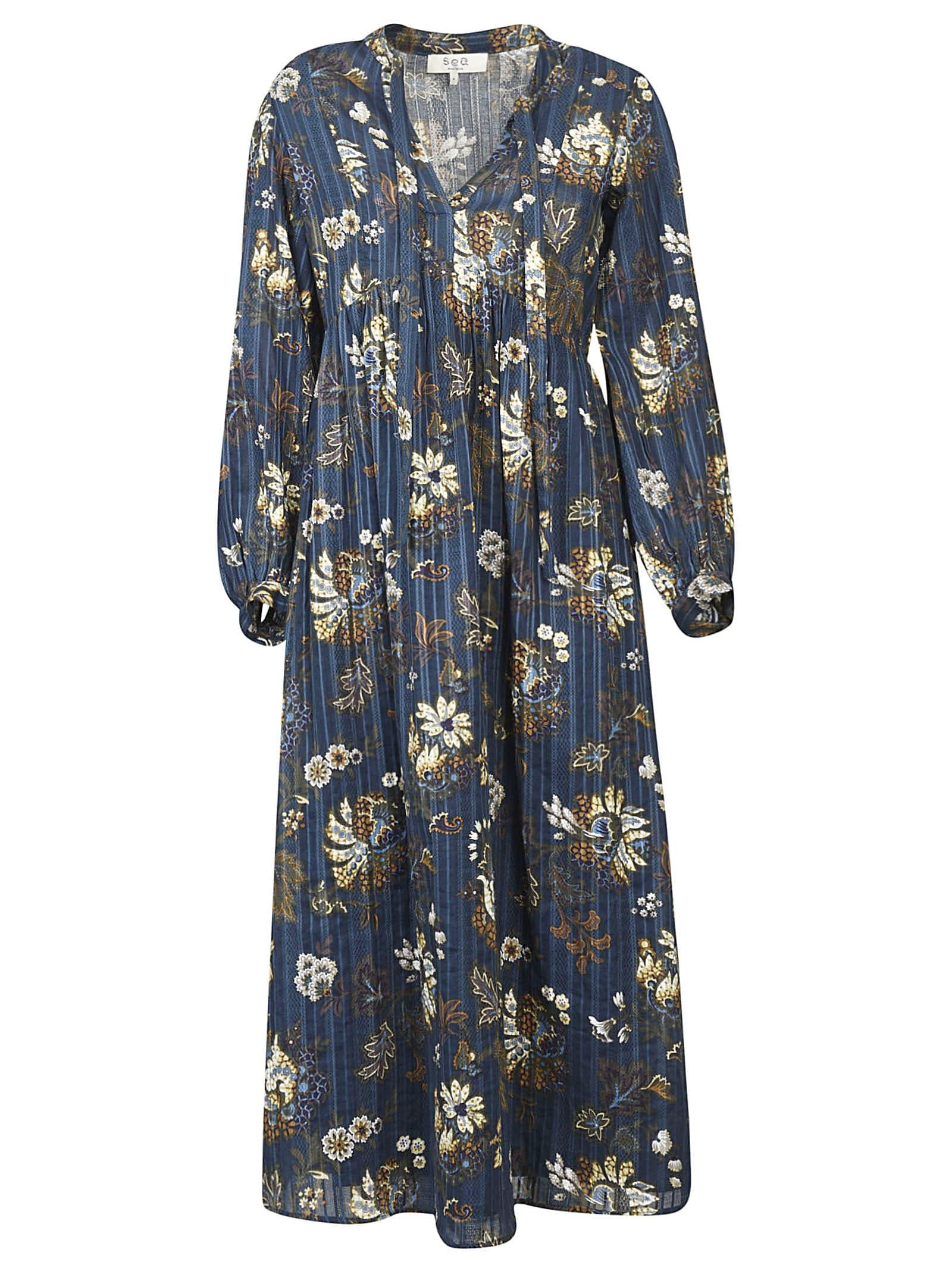 Sea Pascale Print Maxi Dress