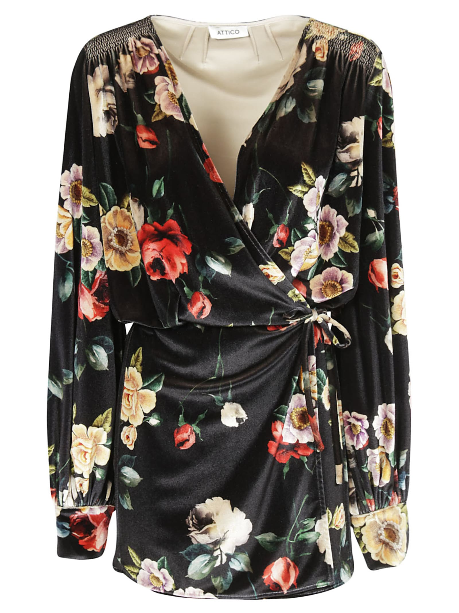 Buy The Attico Floral Print Mini Dress online, shop The Attico with free shipping