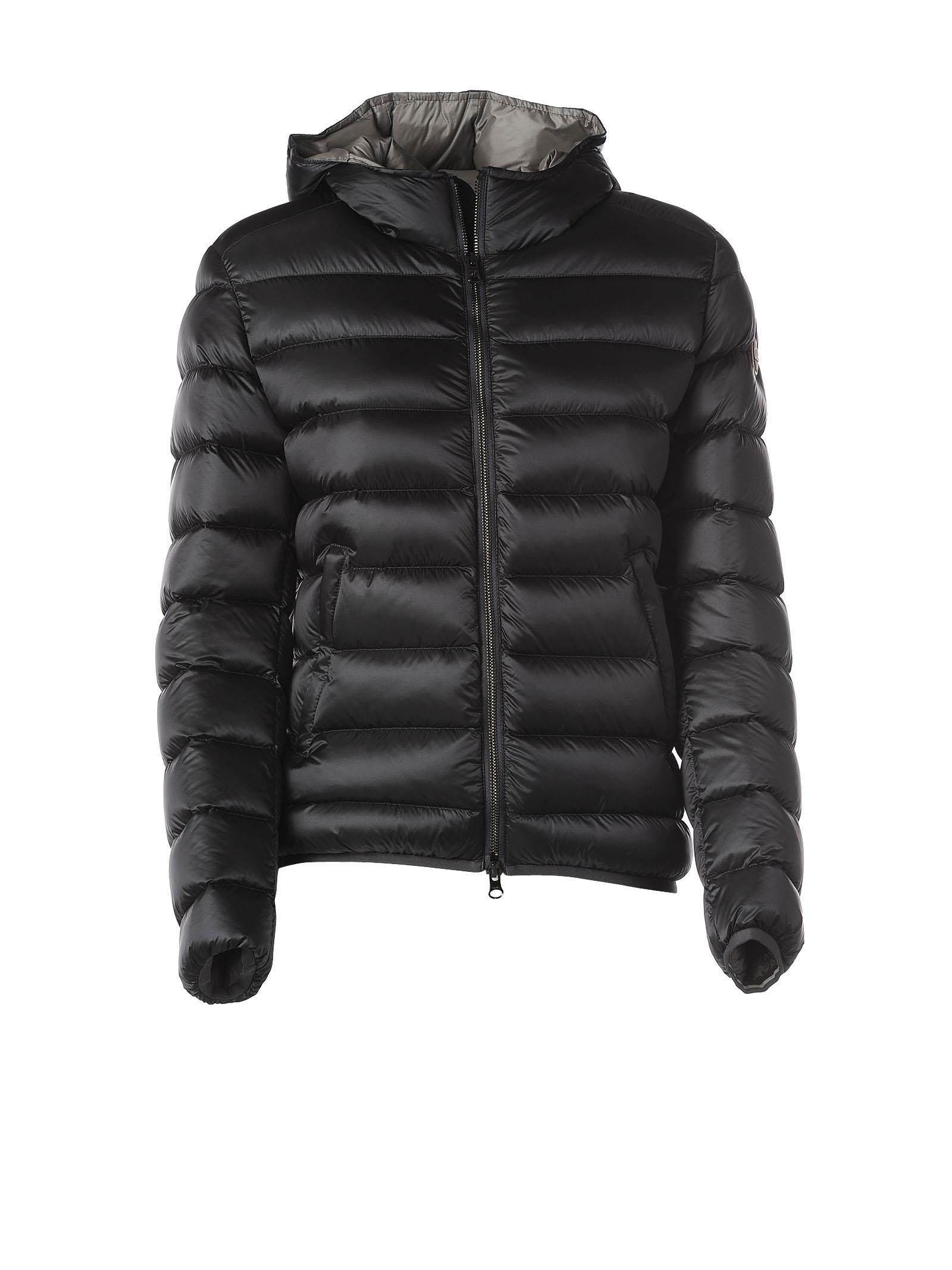 Colmar Hooded Grey Down Jacket
