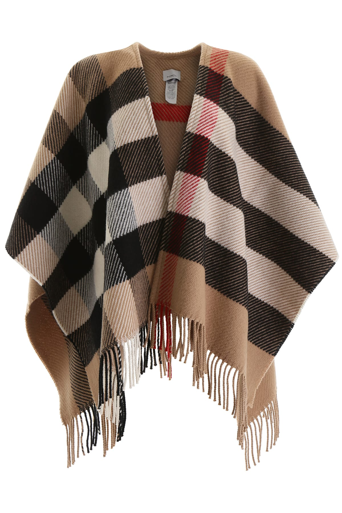 Photo of  Burberry Maxi Check Cape- shop Burberry jackets online sales