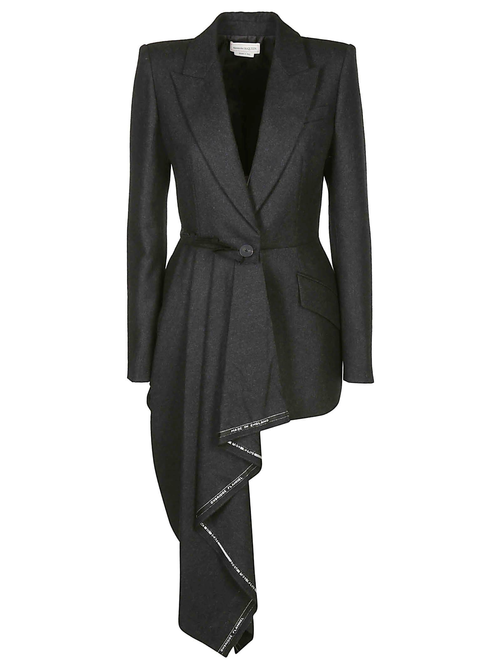 Alexander McQueen Drape Detail Jacket