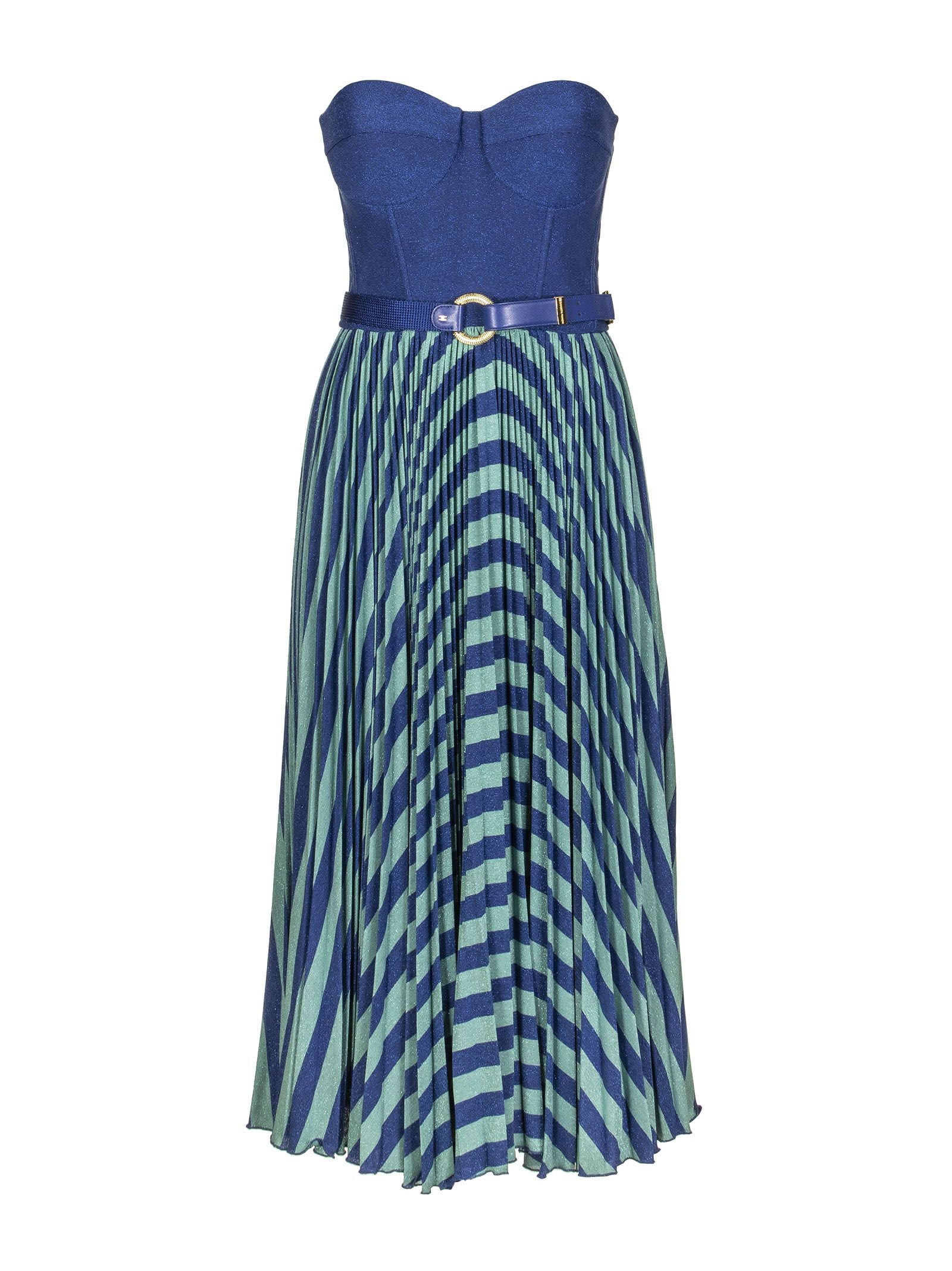 Elisabetta Franchi Sleeveless Dress With Belt