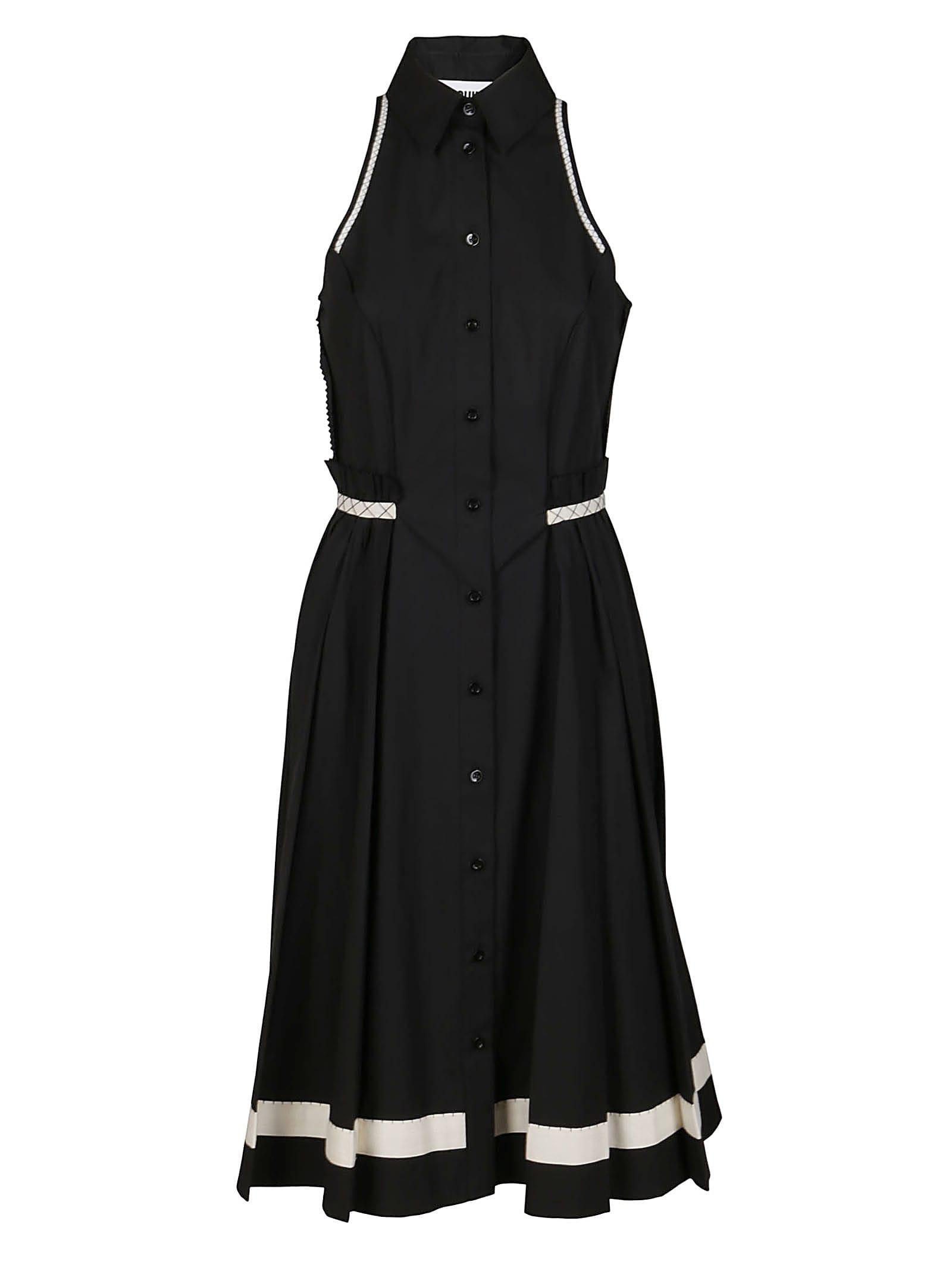 Moschino Clothing BLACK COTTON DRESS