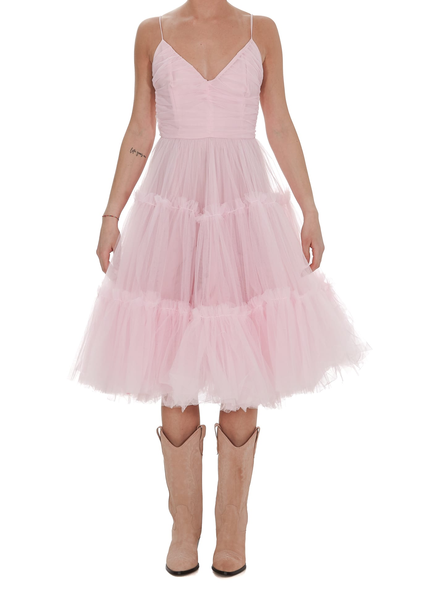 Buy Tulle Dress online, shop Brognano with free shipping