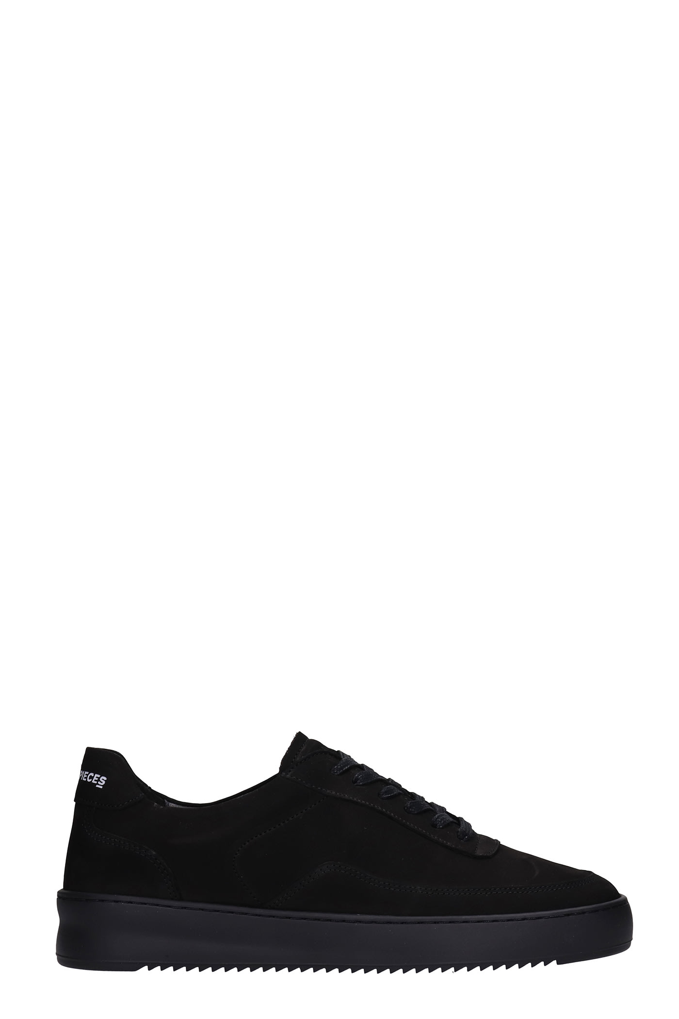 Mondo 2.0 Rippl Sneakers In Black Nubuck