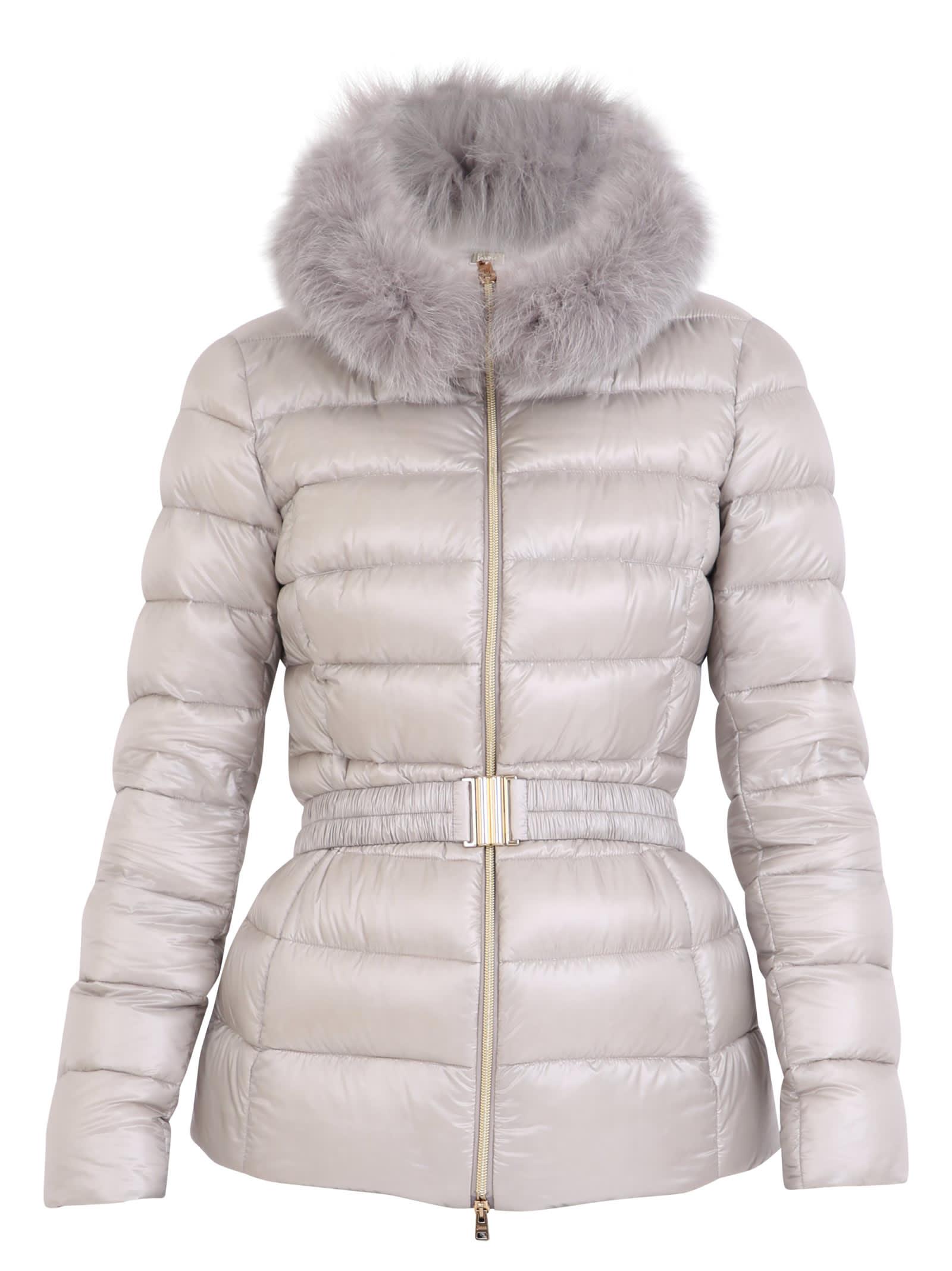 Herno Grey Claudia Padded Jacket