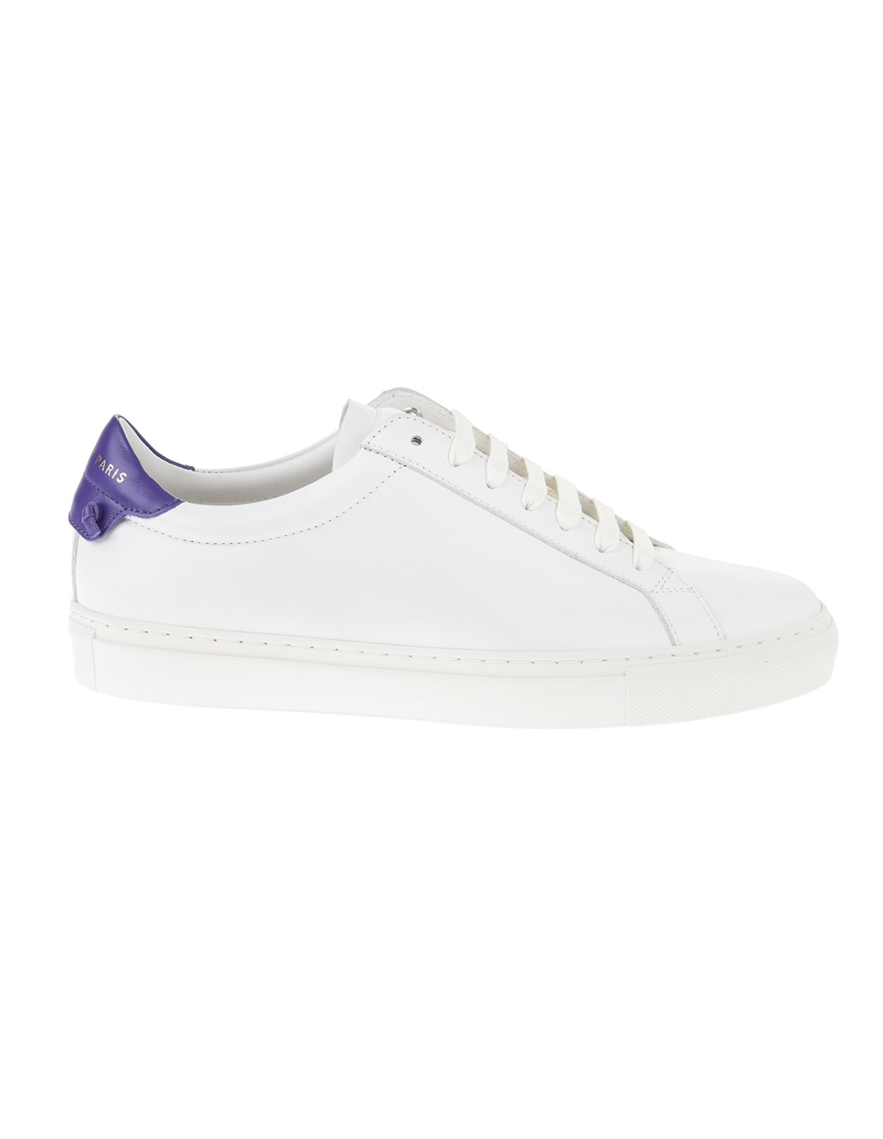 Givenchy Leathers WHITE AND PURPLE URBAN STREET MAN SNEAKERS